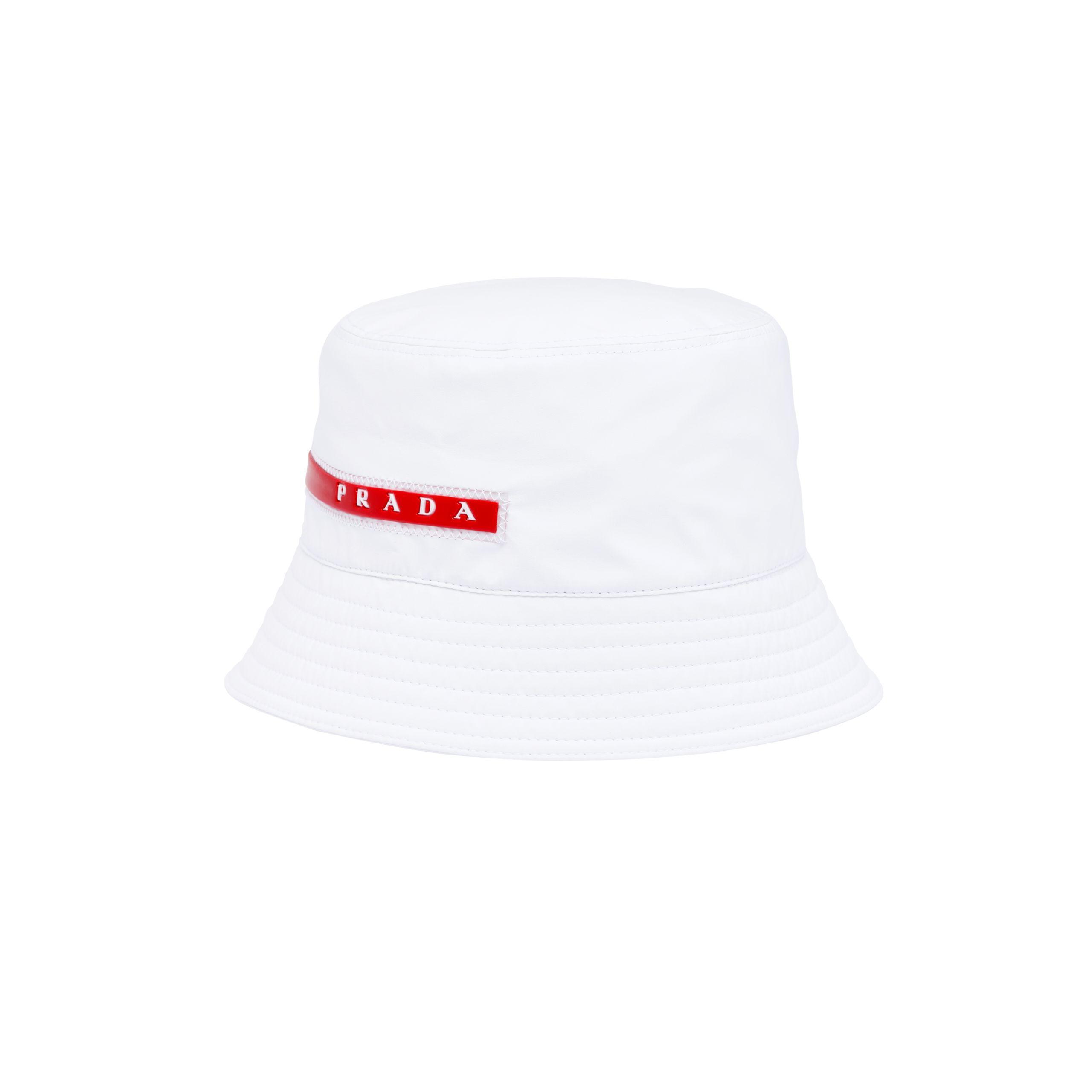 bd865be6194 Lyst - Prada Technical Fabric Cap for Men