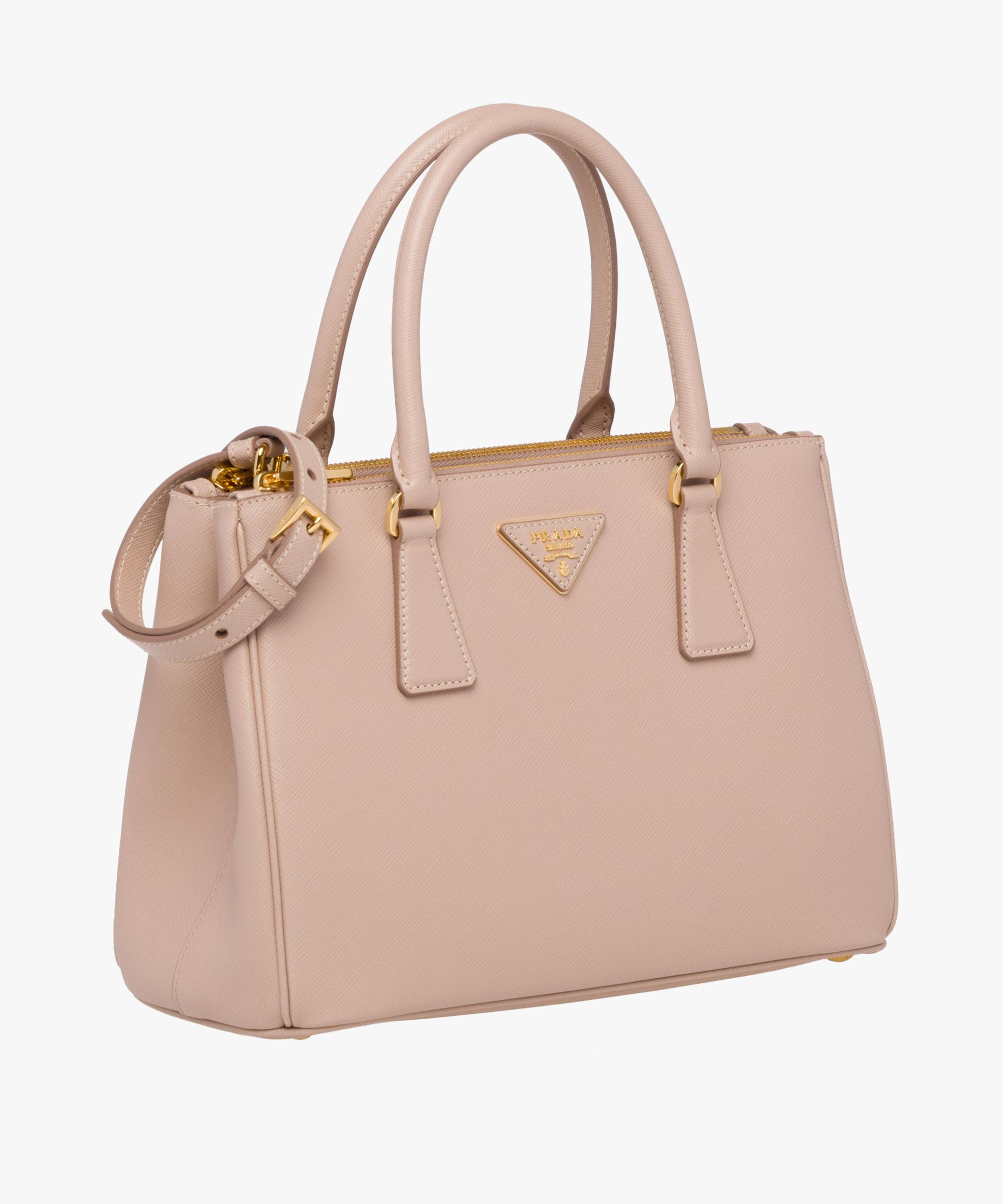 5605a93786d8 ... usa lyst prada galleria saffiano leather bag in pink bf89a cd2dd