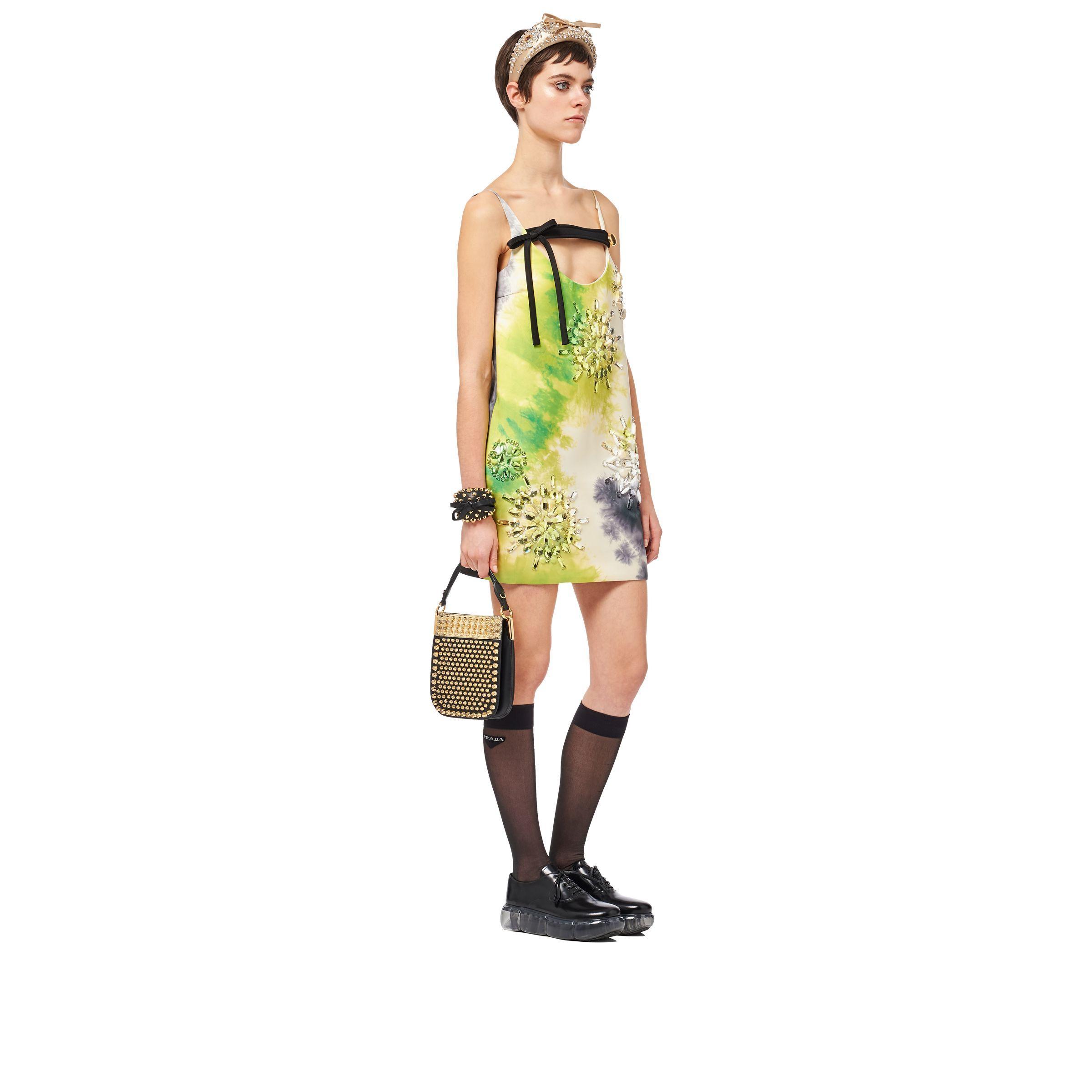 02cefc684fb0 Prada - Black Margit Small Studded Bag - Lyst. View fullscreen