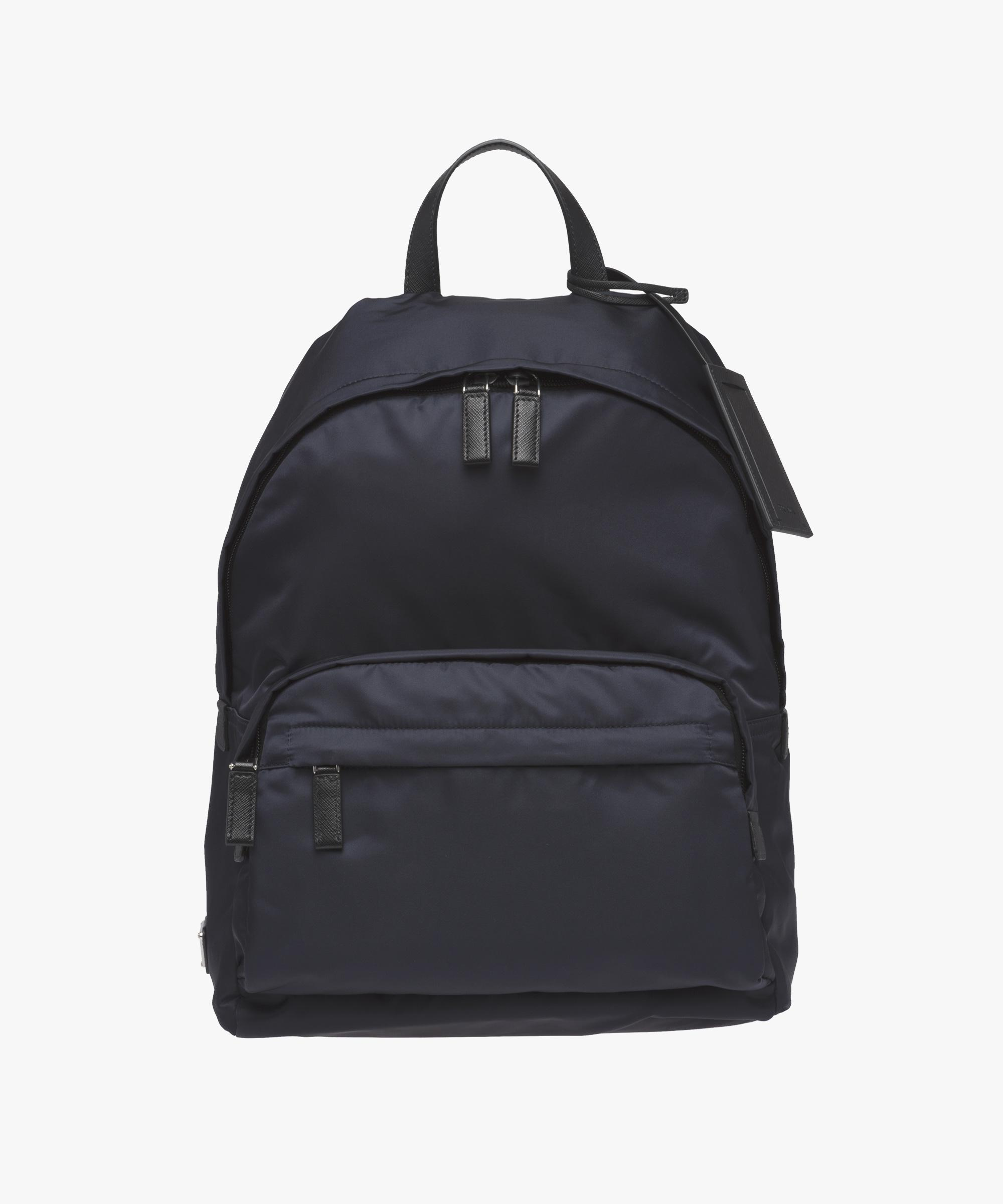 c534490c6246bf Prada Technical Fabric Backpack in Blue for Men - Lyst