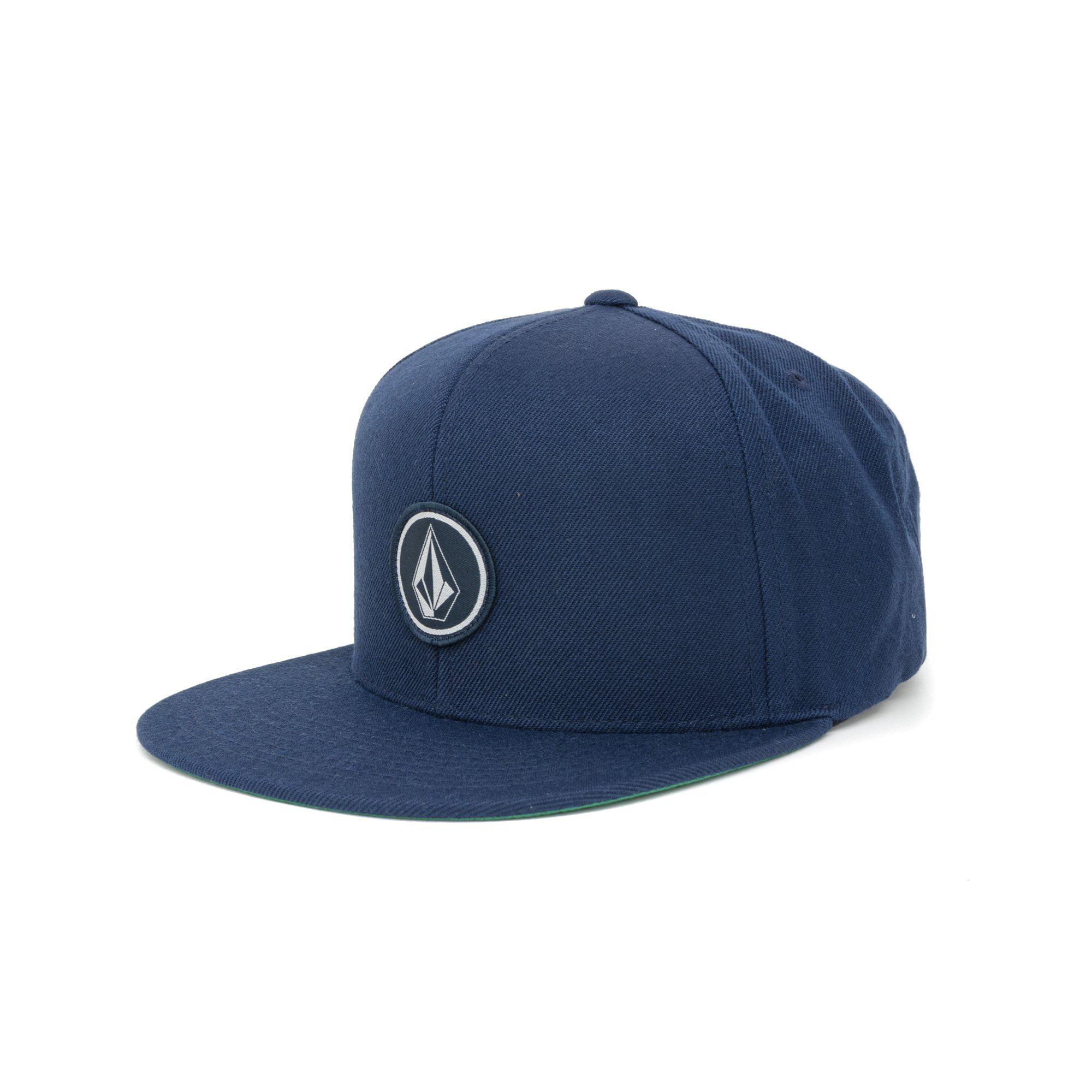 3bdec6b80a5489 Lyst - Volcom Quarter Twill Snapback Cap in Blue for Men