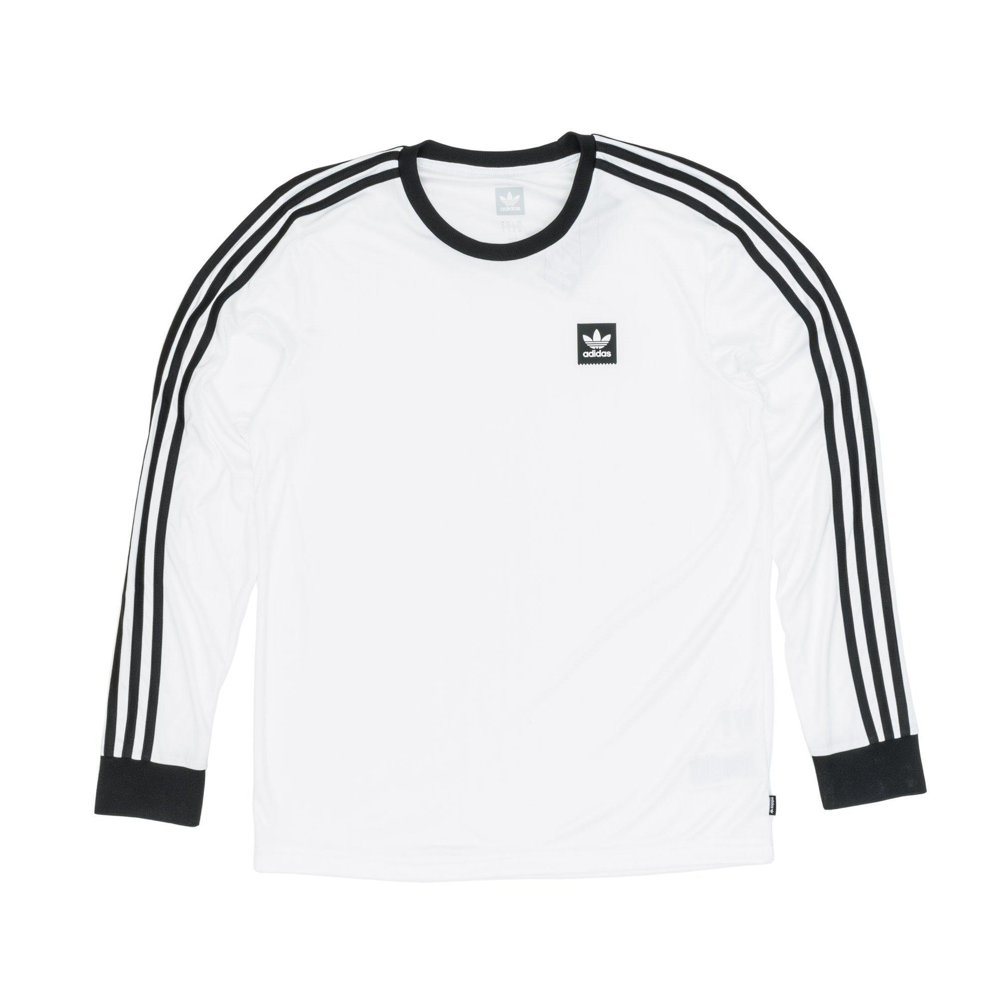 Adidas - White Club Jersey Longsleeve T-shirt for Men - Lyst. View  fullscreen 28b6af5b1