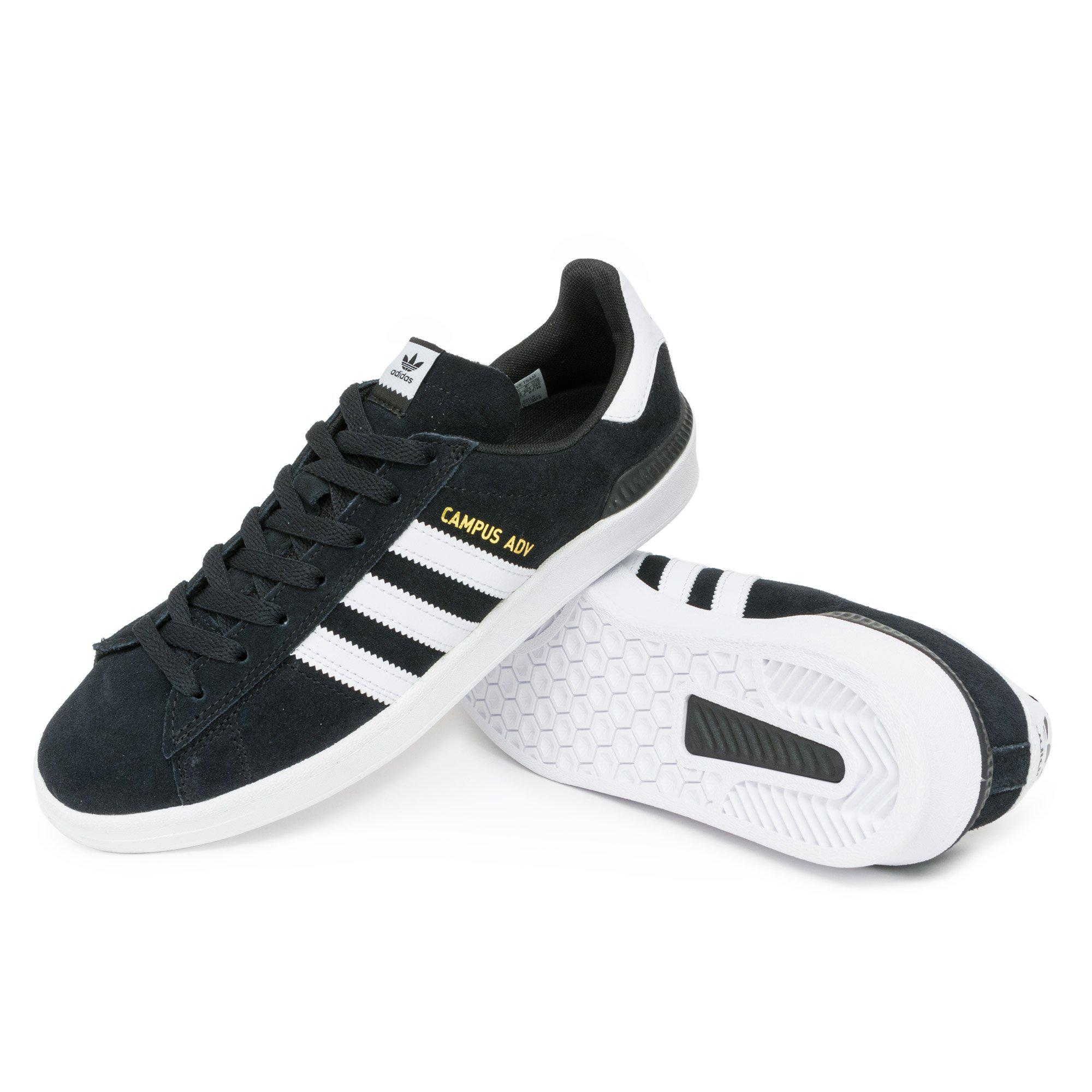 huge selection of 776c0 b2662 Adidas - Black Campus Adv Shoes for Men - Lyst. View fullscreen