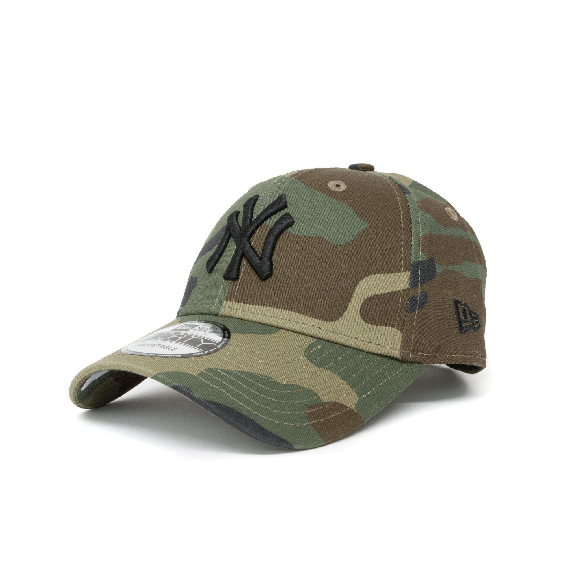 a8ef966b729 KTZ New York Yankees Essential Camo 9forty Cap in Green for Men - Lyst
