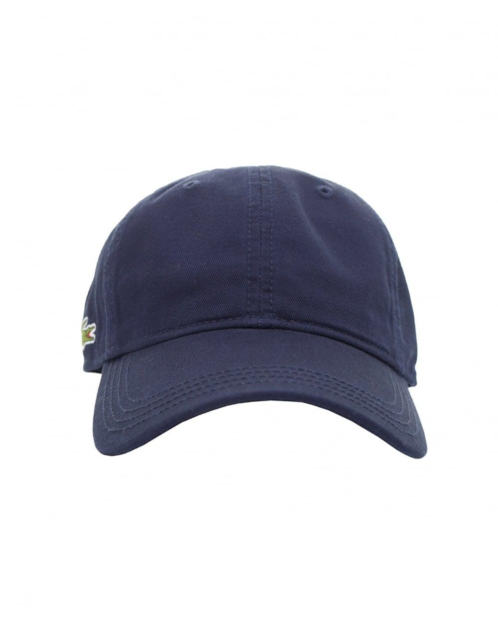 7555eb4be36 Lacoste L!ive Side Logo Cap in Blue for Men - Lyst