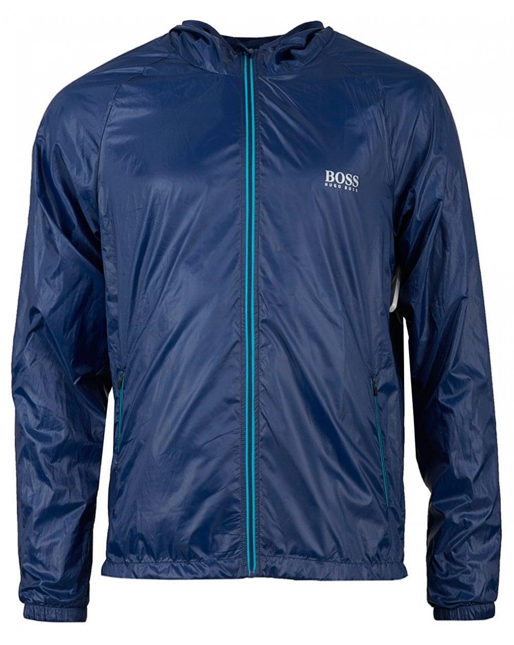 d93c591350 BOSS by Hugo Boss Beach Zip Jacket in Blue for Men - Lyst