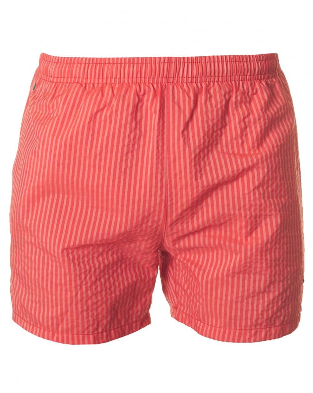 Lyst boss black tuna fish swim shorts in red for men for Fishing swim trunks