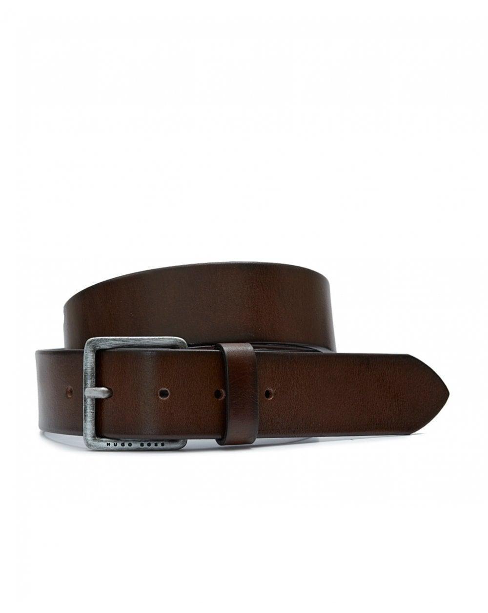 35aee901431d Lyst - BOSS Casual Accessories Jeeko Leather Belt in Brown for Men