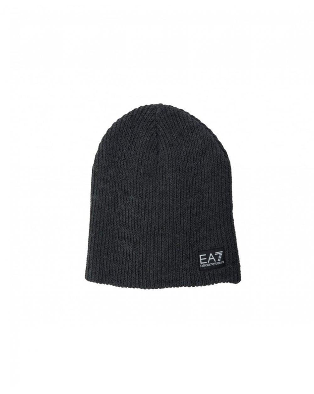a313d7df92b Ea7 Train Lux Beanie Hat in Gray for Men - Lyst