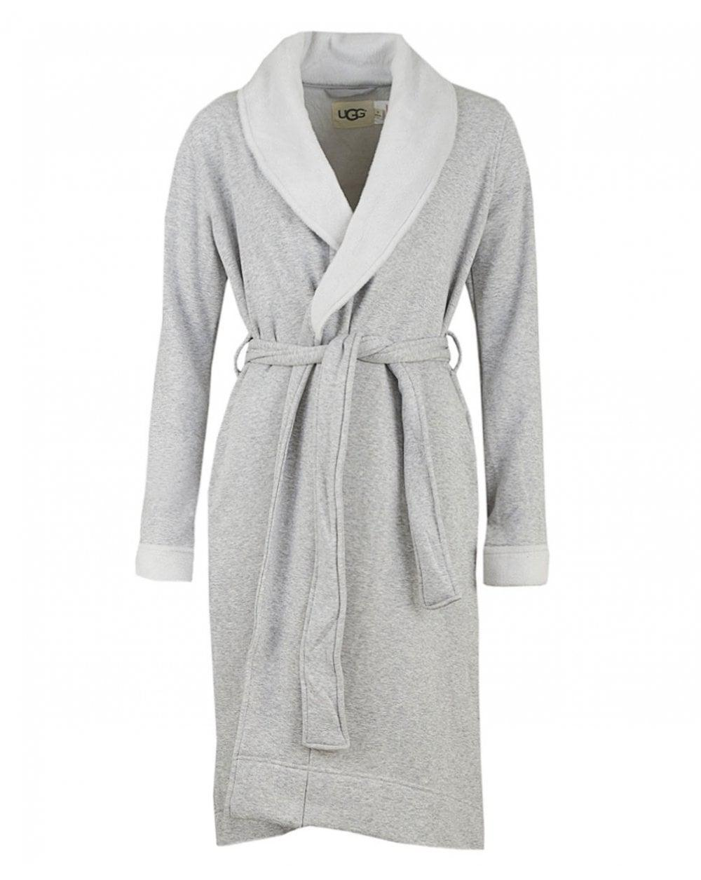 4143776dca UGG. Women s Gray Duffield Ii Fleece Lined Dressing Gown. £120 From Psyche