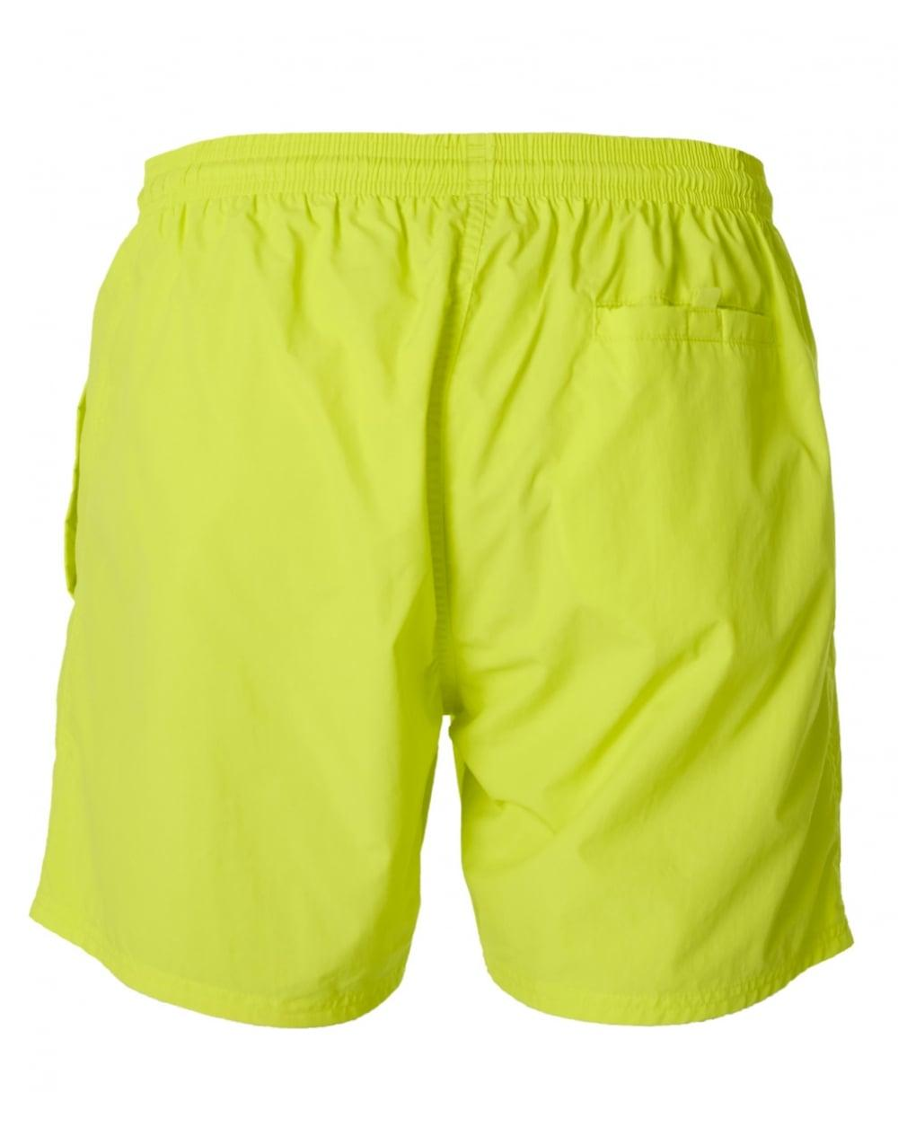 75f05bf4 BOSS by Hugo Boss Octopus Swim Shorts in Yellow for Men - Lyst