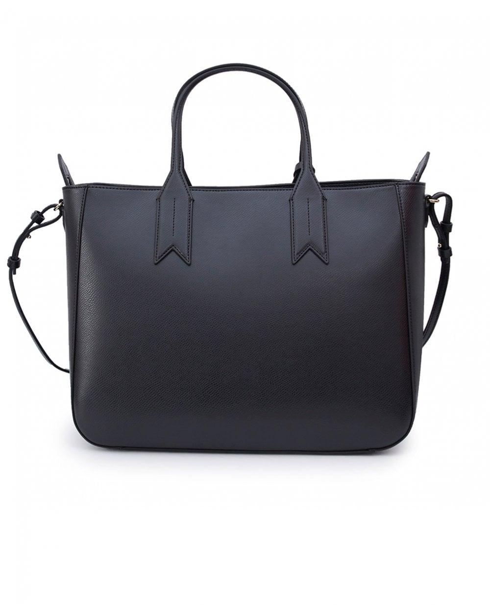 Lyst - Emporio Armani Frida Zip Top Tote Bag in Black for Men ed62509aadcfb