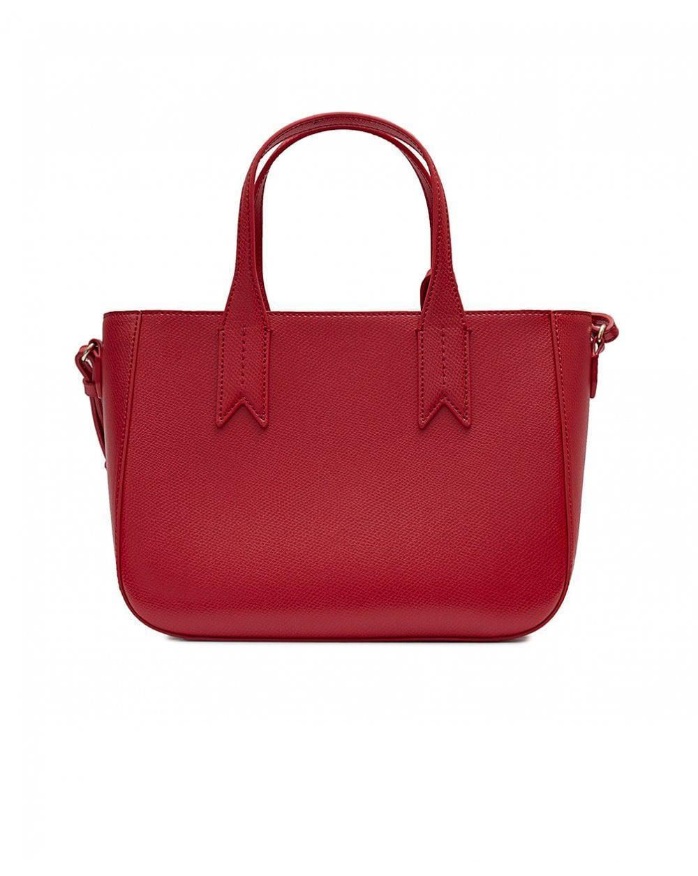 Emporio Armani Frida Small Eagle Logo Tote Bag in Red - Lyst 3b8c3e9574
