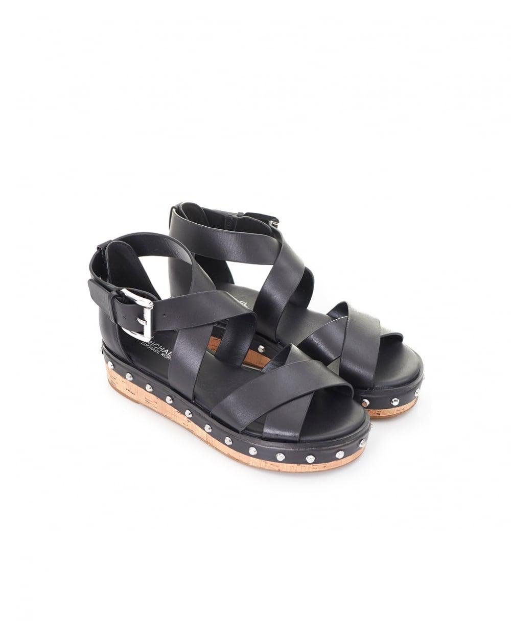 womens splash studded chunky uk image from sliders black flat ash sandals stud shoon