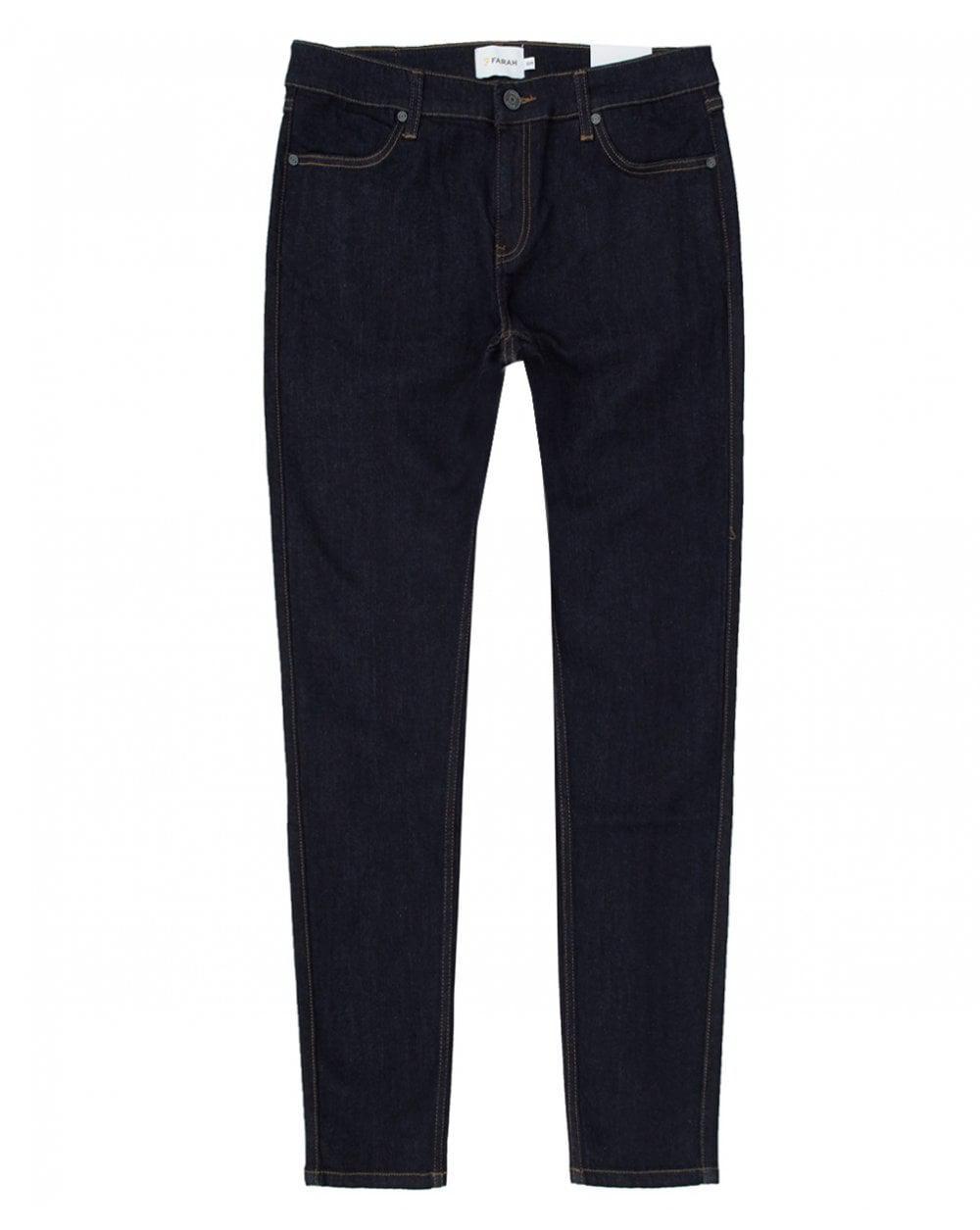 Lyst - Farah Howells Skinny Fit Jeans in Blue for Men 83b28b1d5a0d