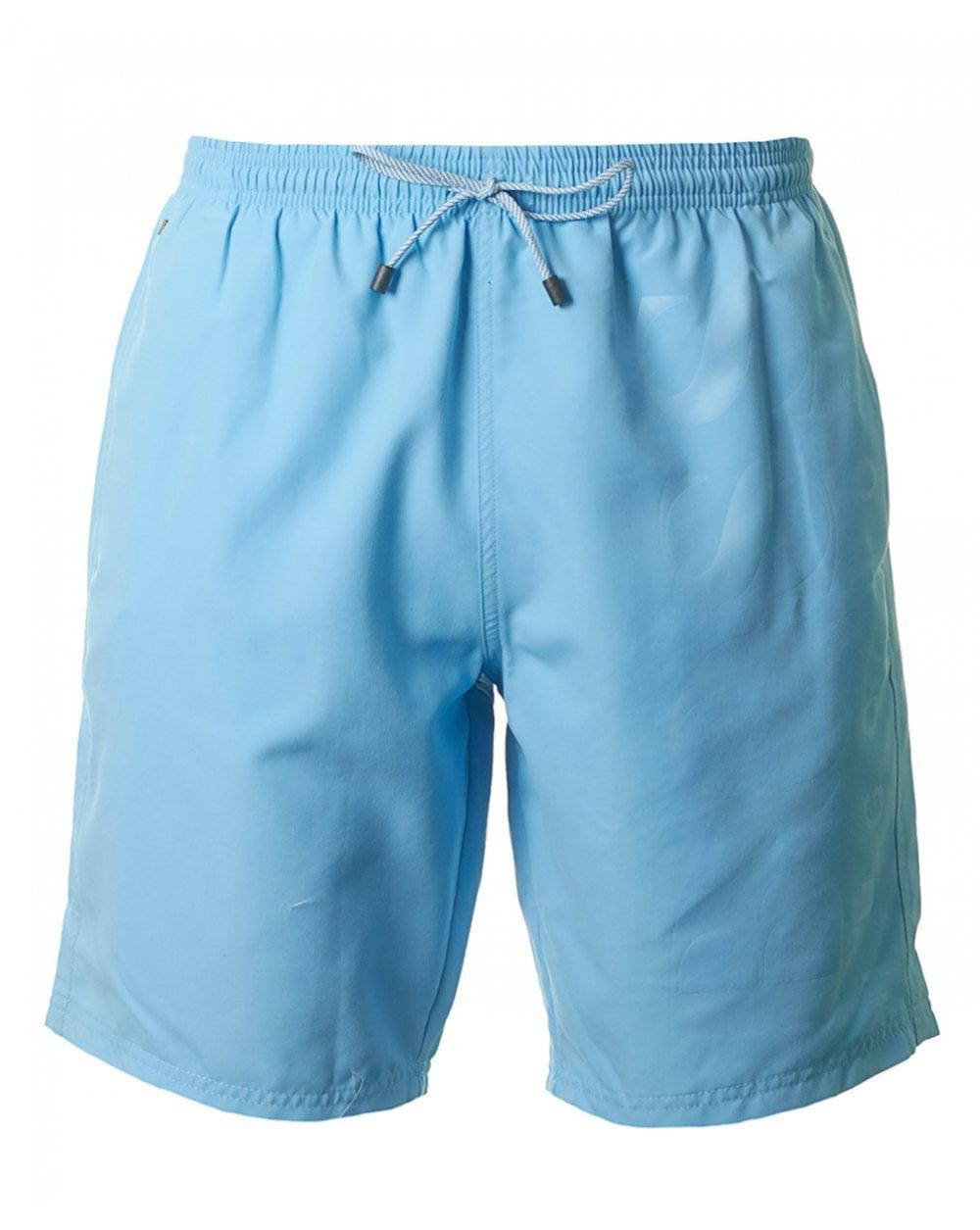 f81db31560 Lyst - Boss Black Orca Swim Shorts in Blue for Men