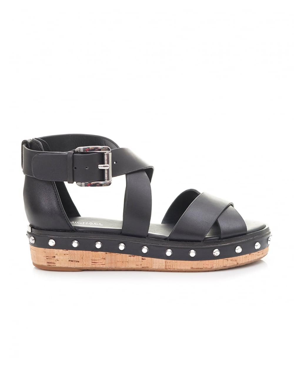 chunky ash black shoes stud sandal in gallery lyst footwear platform