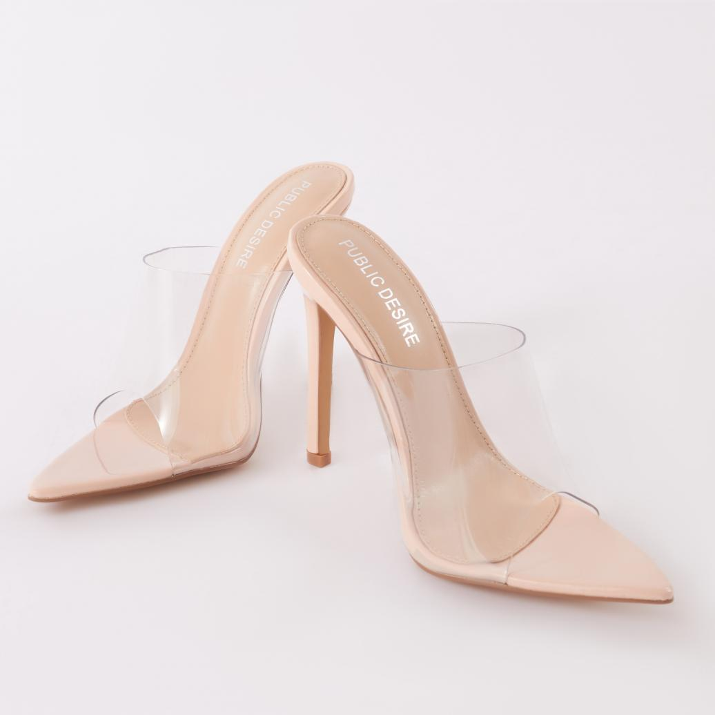 06c7614aafc Gallery. Previously sold at  Public Desire · Women s Peep Toe Heels ...