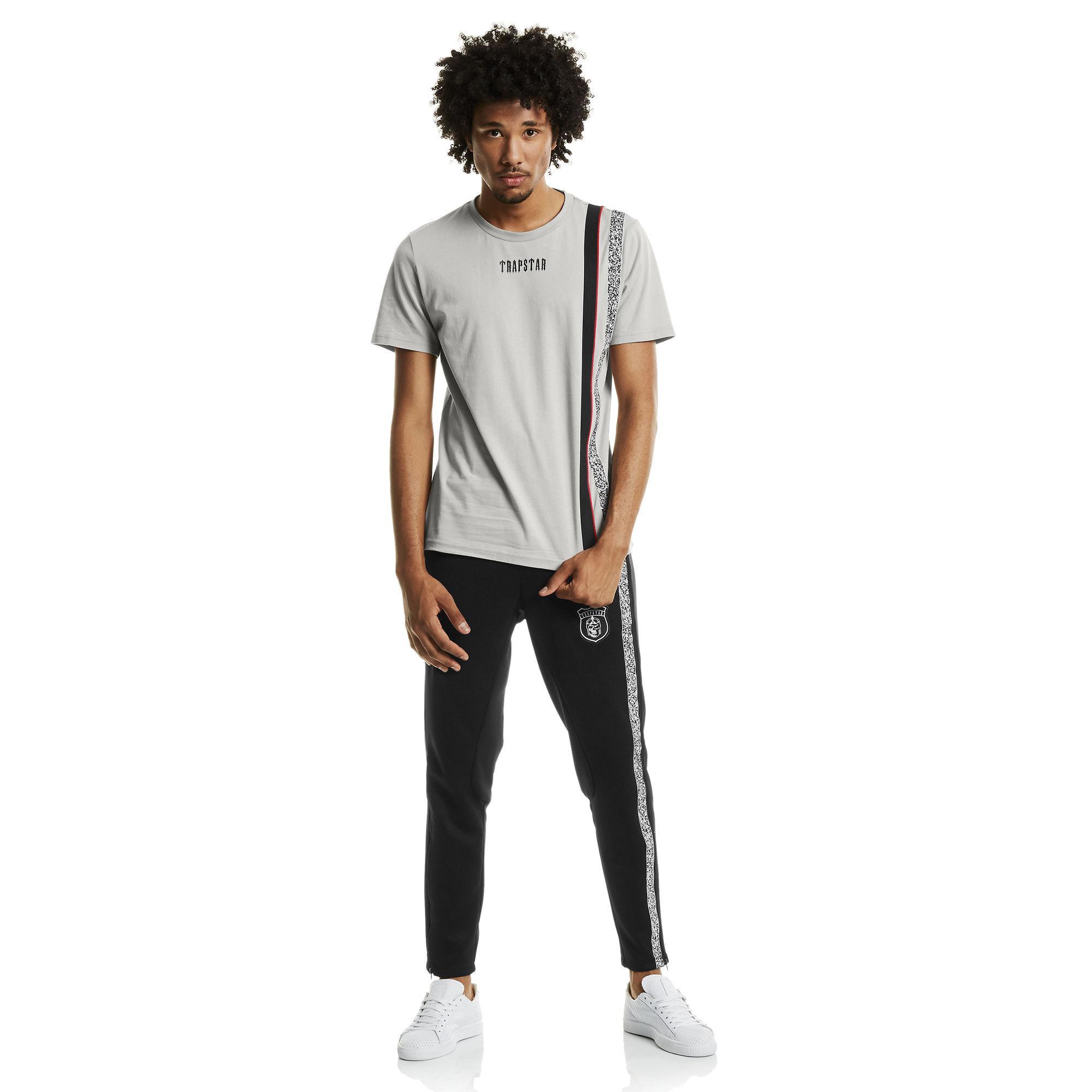 ca6967eefe7a35 Lyst - PUMA X Trapstar Men s T-shirt in Gray for Men