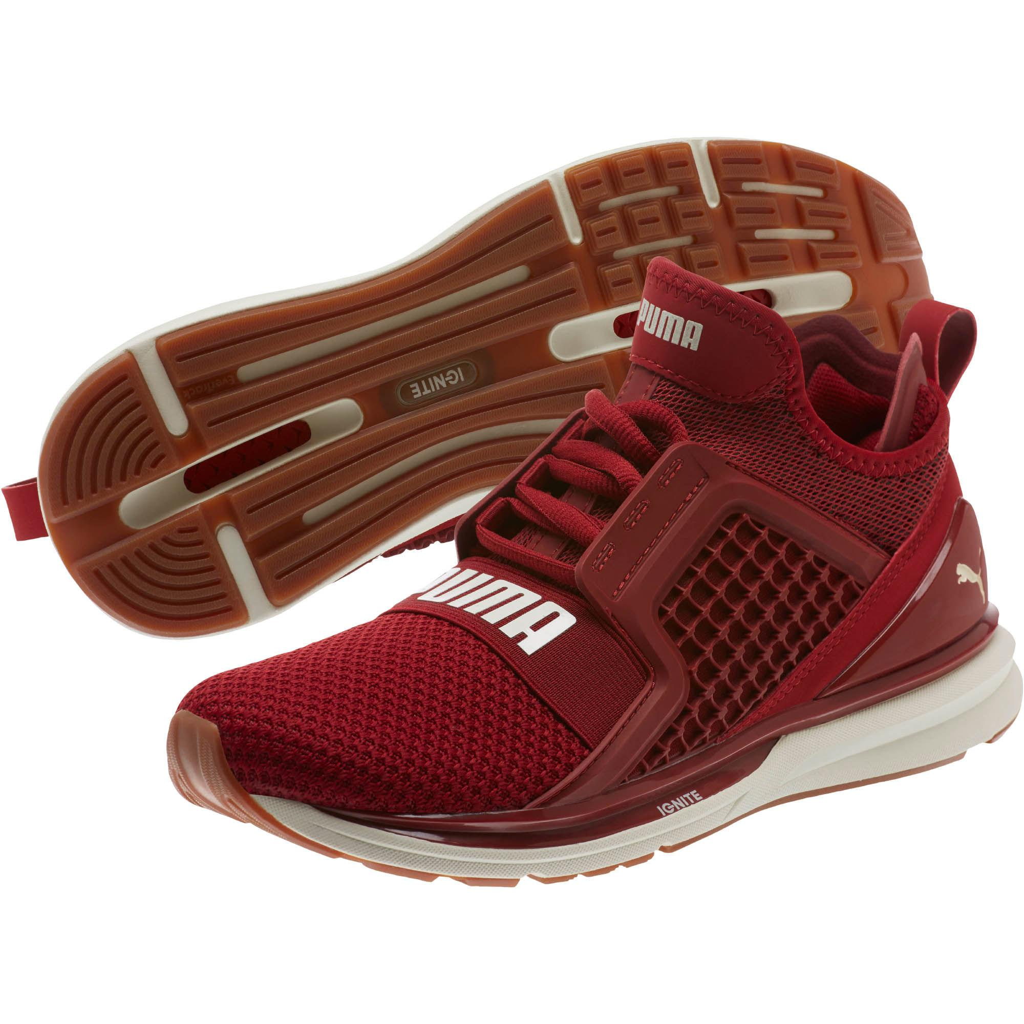 Lyst - PUMA Ignite Limitless Weave Women s Running Shoes in Red 49449066d