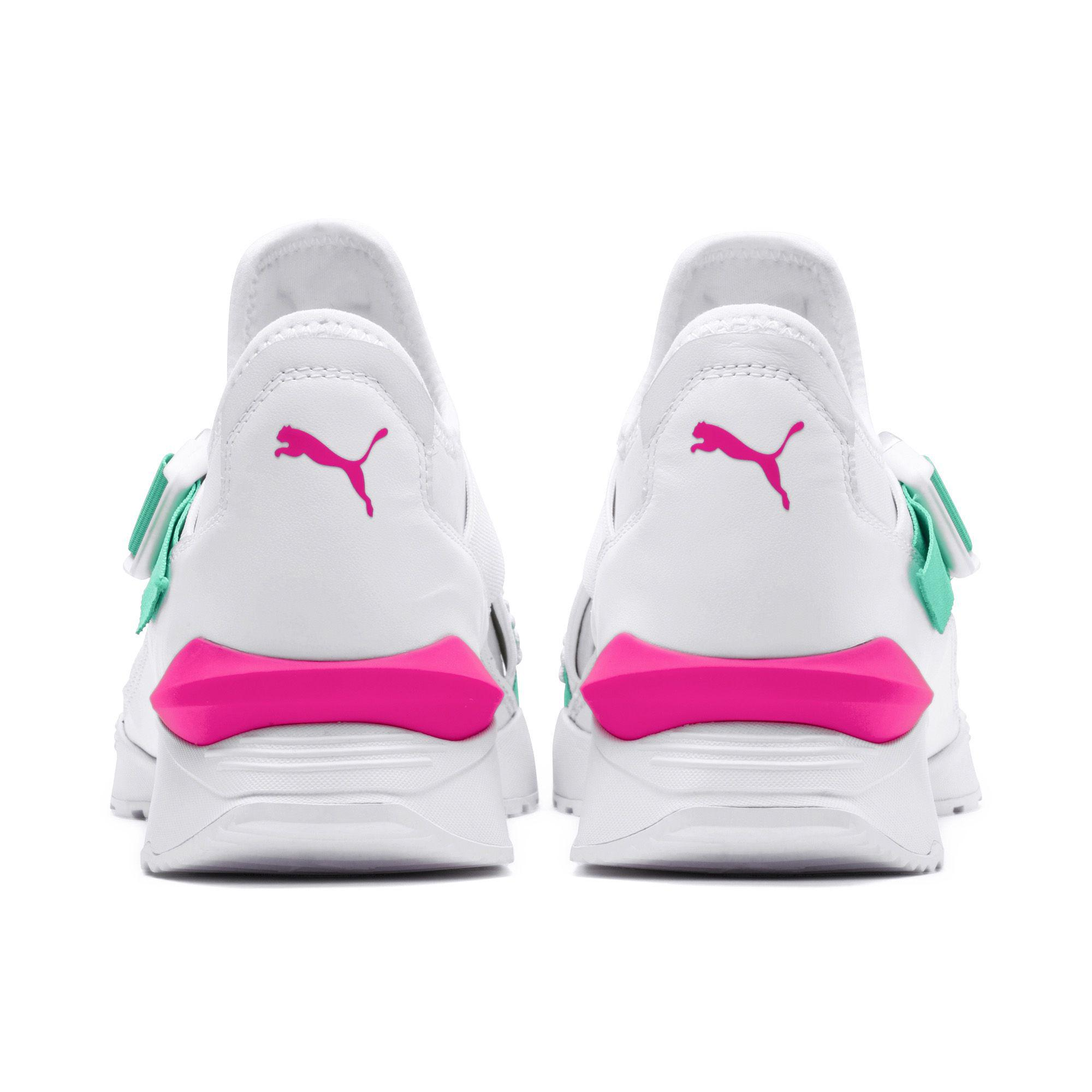 3caf0d820b1e Lyst - PUMA Muse Eos Street 1 Women s Sneakers in White - Save 31%