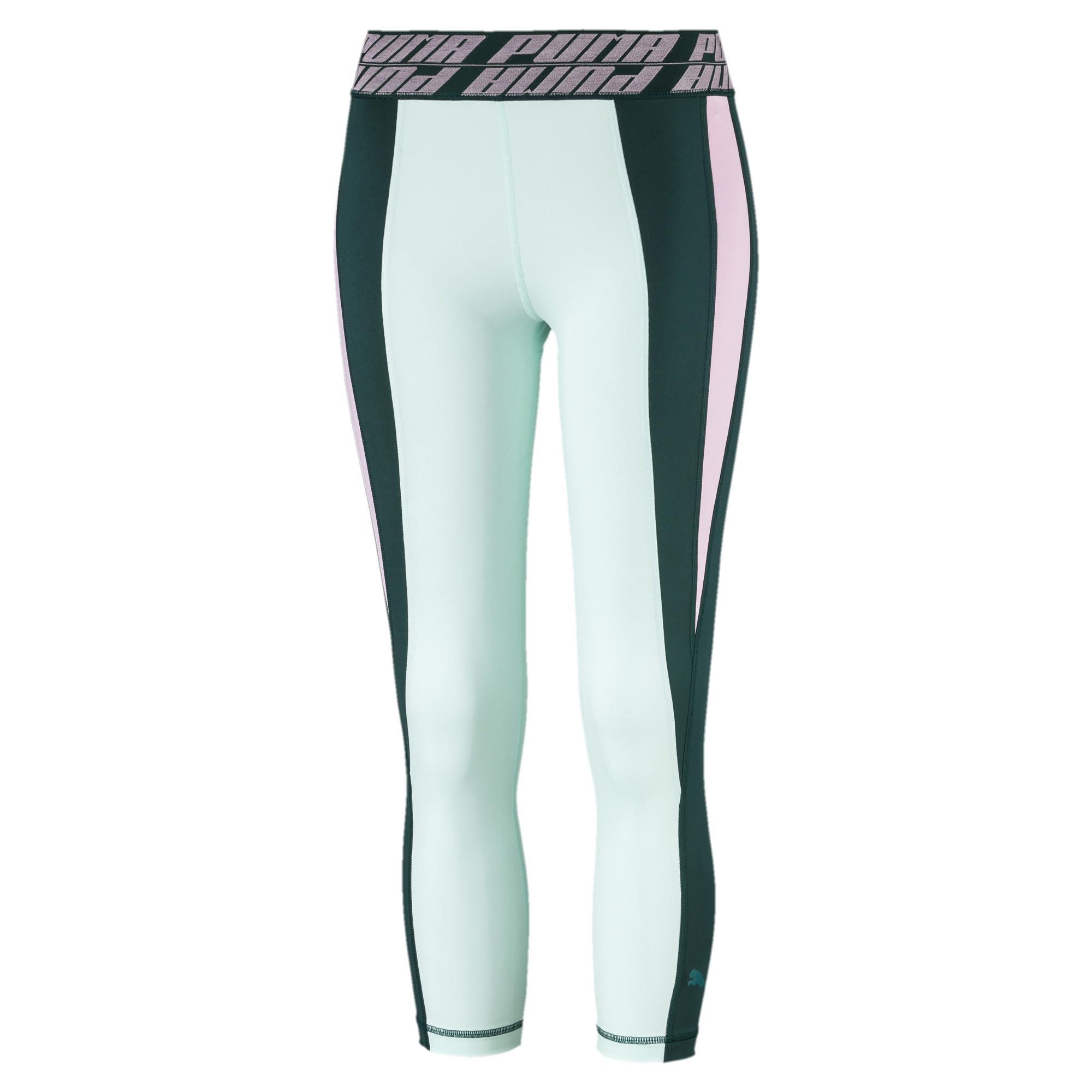 02aa79afb4 Lyst - PUMA Own It Women's 3/4 Leggings in Green