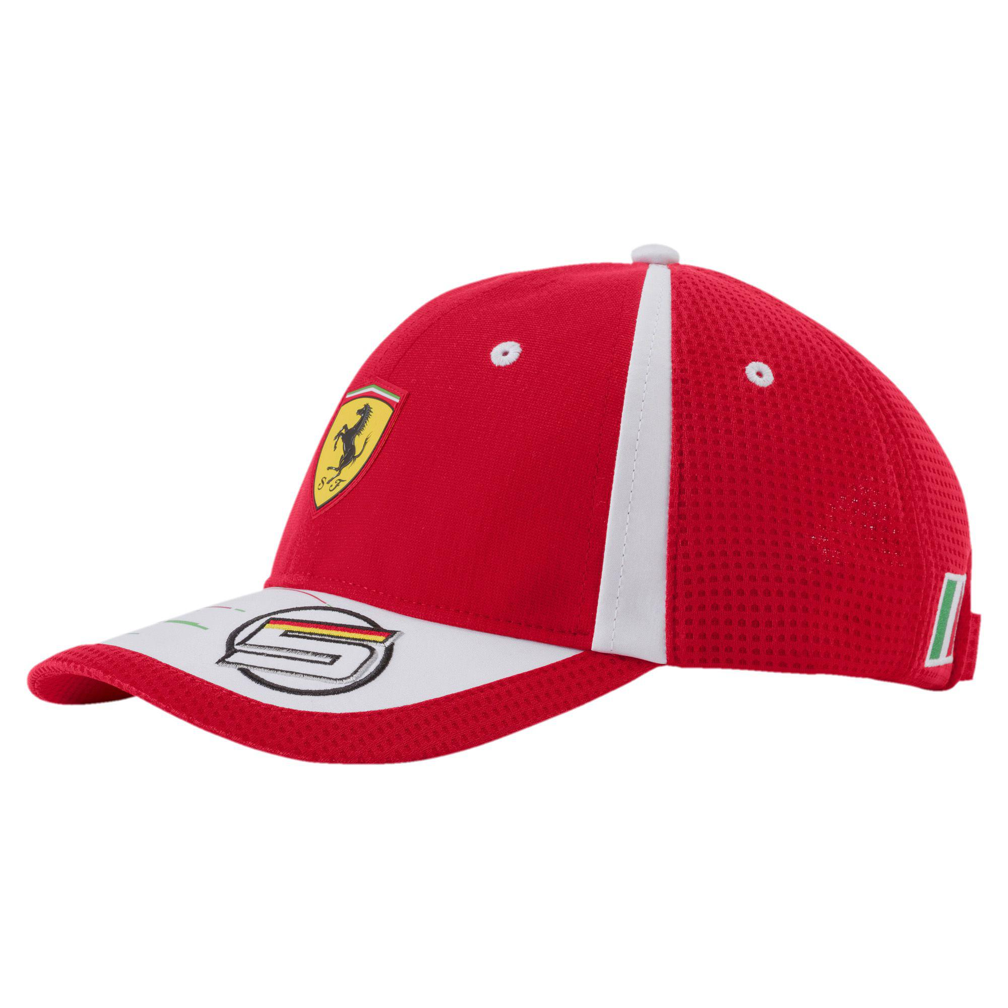 sports uk men s outdoors one vettel ferrari cap sebastian dp baseball amazon yl puma co size red