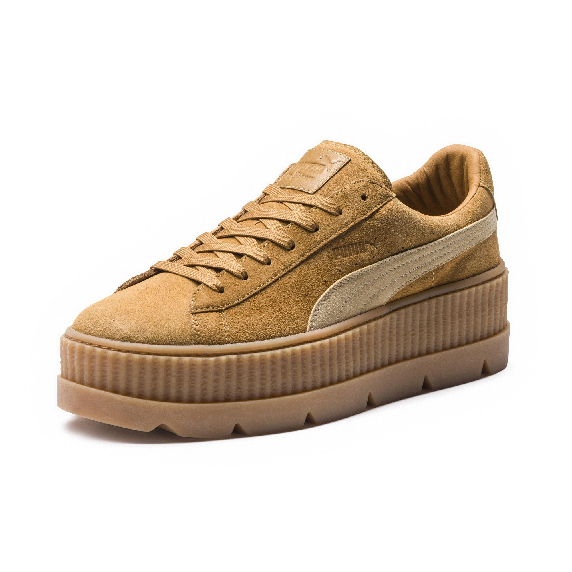 bc7277ce78a Lyst - PUMA Fenty Suede Cleated Creeper Men s in Brown for Men
