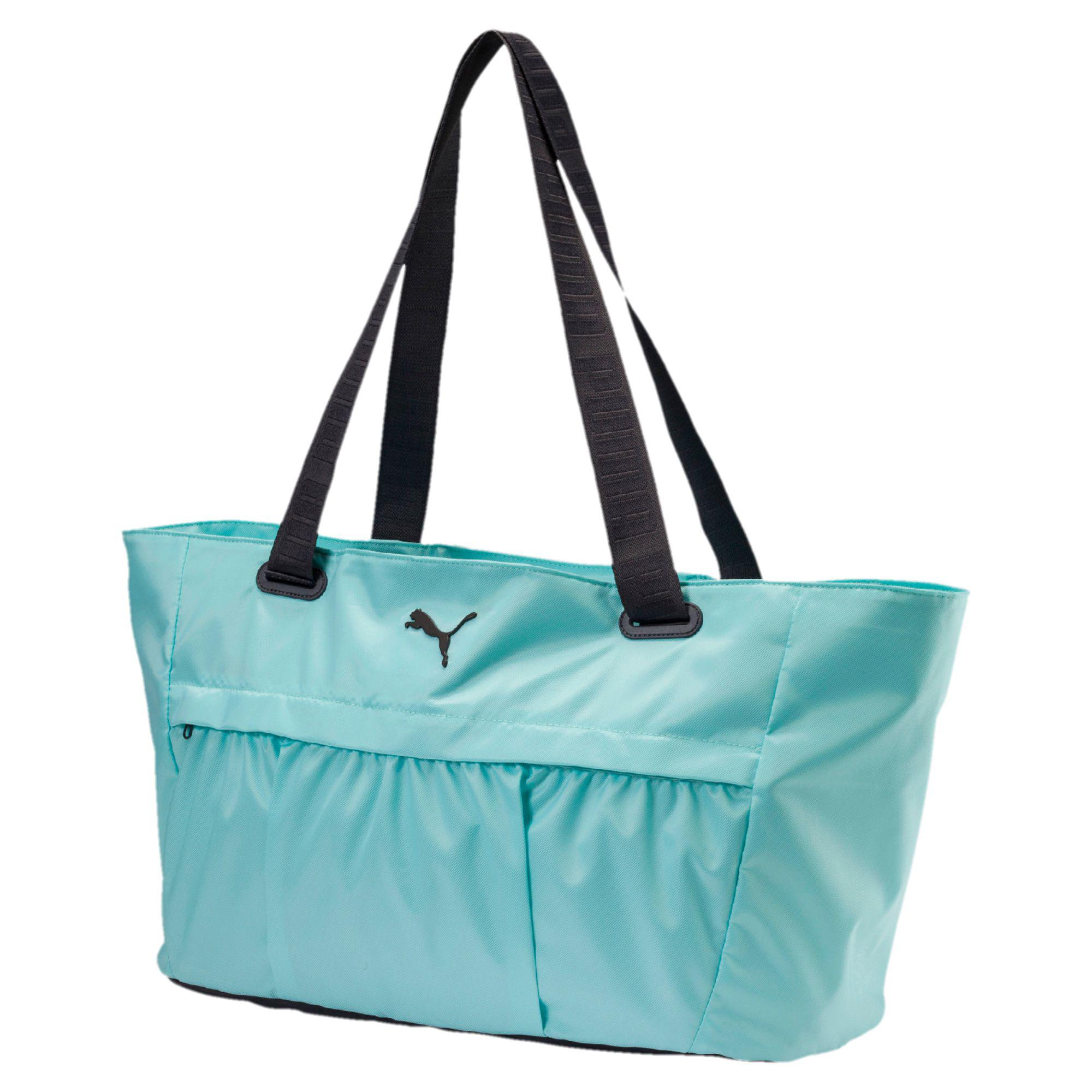 a1e0eb825d PUMA Active Training Women's Workout Bag in Blue - Lyst