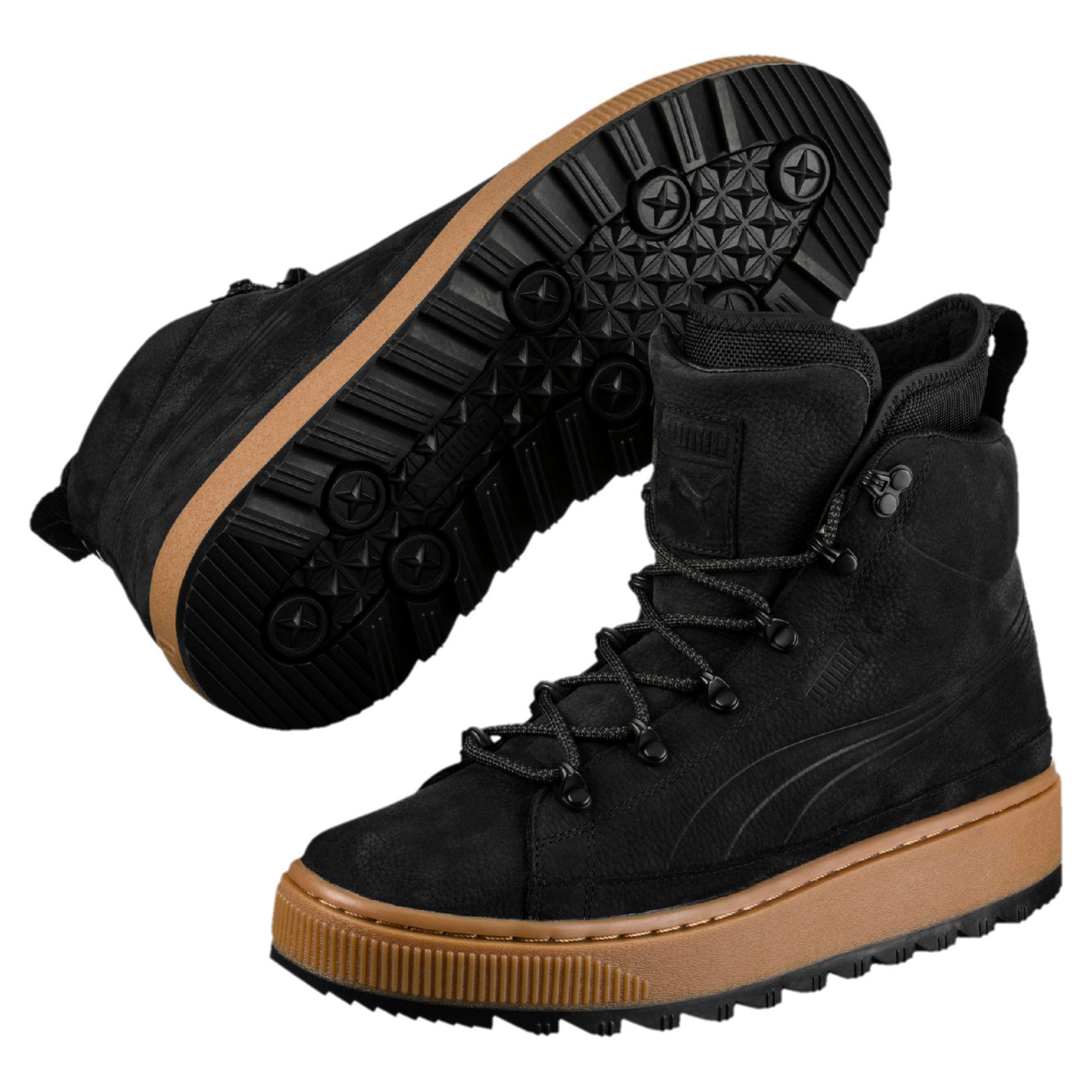b38d080c06c7 Lyst - PUMA The Ren Boots in Black