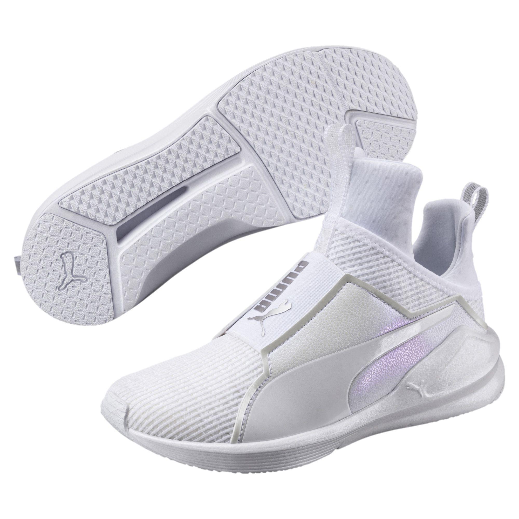 685384cfa14 Lyst - PUMA Fierce En Pointe Women s Training Shoes in White