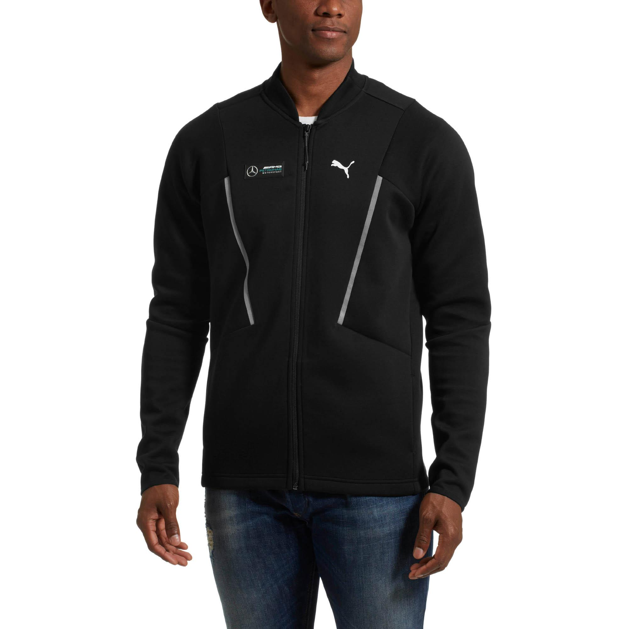 Lyst Puma Mercedes Amg Petronas Men S Sweat Jacket In Black For Men