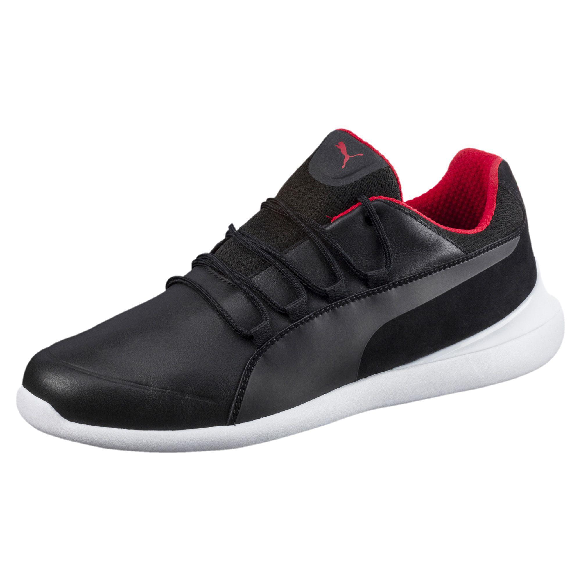 Baskets Chat Hommes Pumas Sf Evo, Noir Blanc Noir, 11,5 M