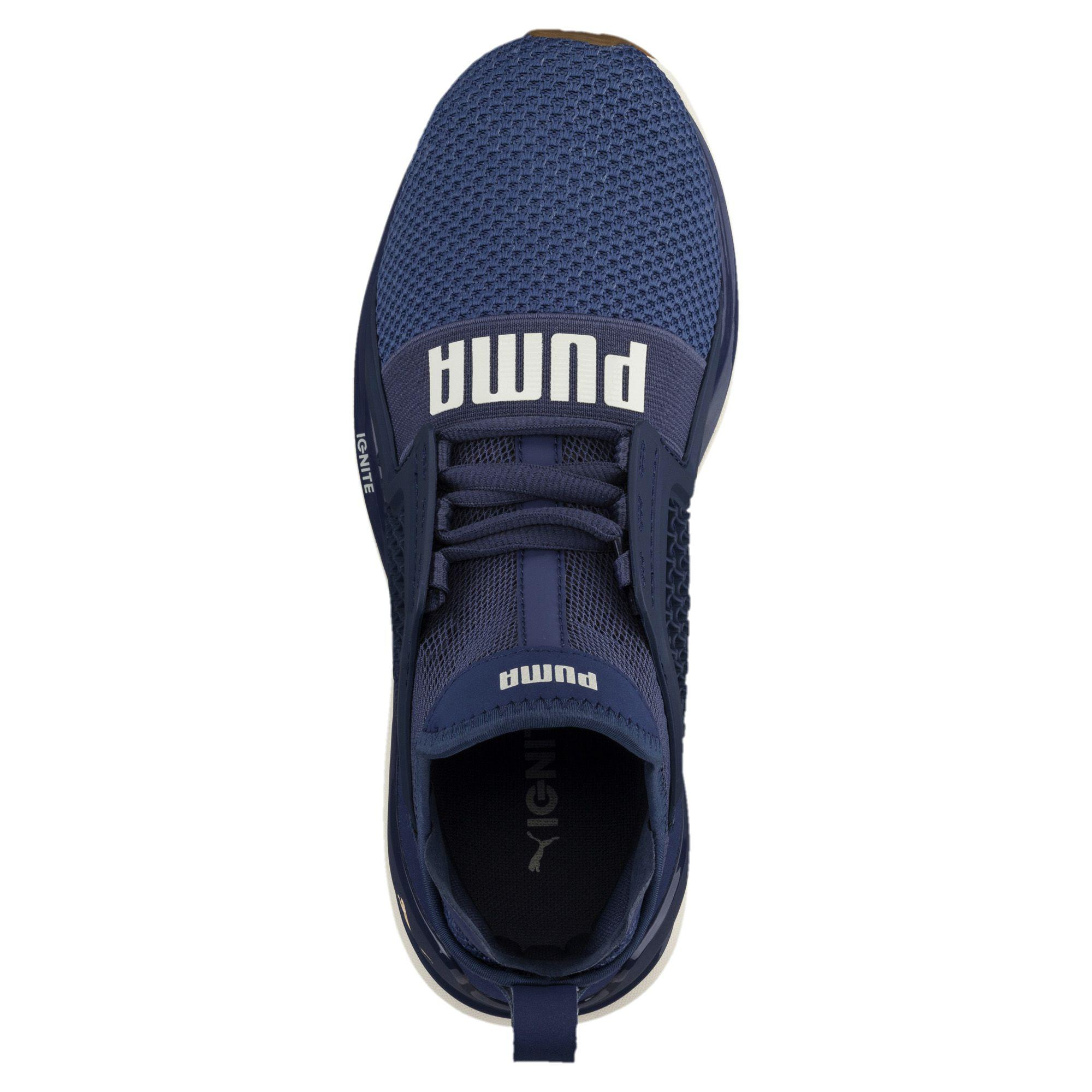 b1a1eaa54e77 Lyst - PUMA Ignite Limitless Weave Women s Running Shoes in Blue