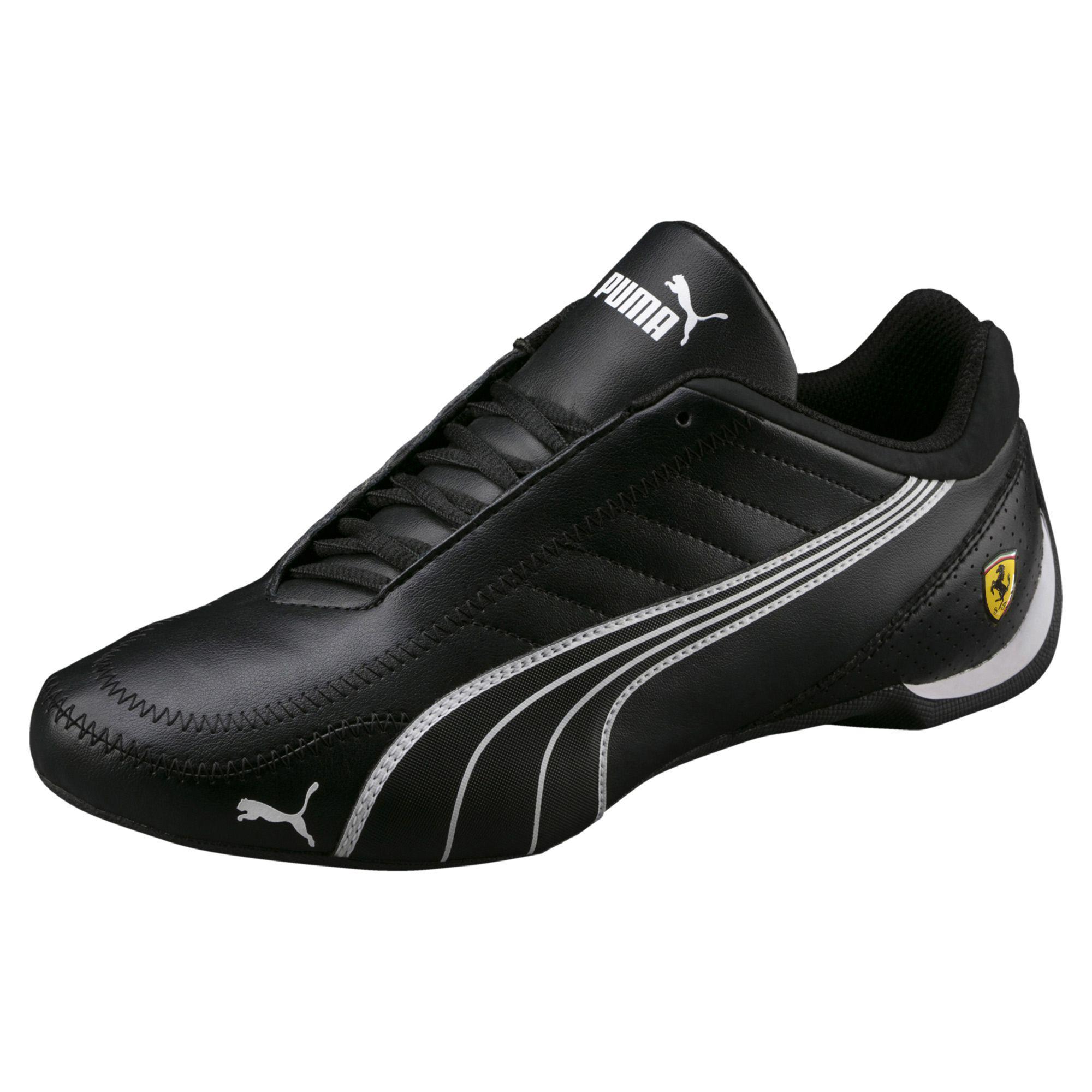 08999e8b455474 Lyst - PUMA Ferrari Future Cart Cat Men s Motorsport Shoes in Black ...