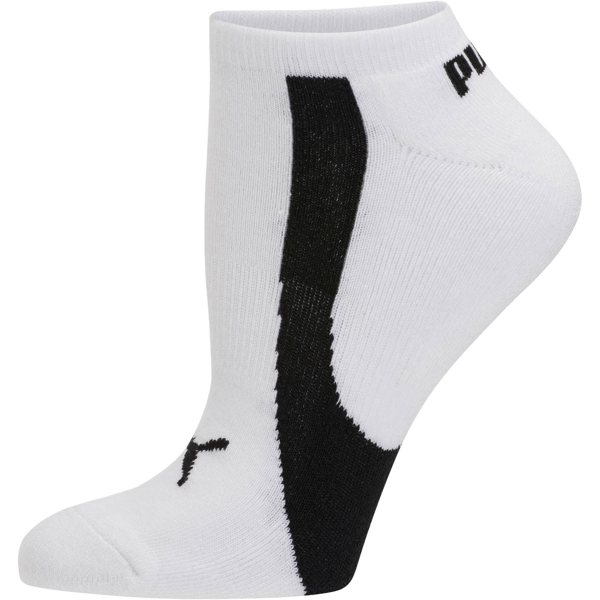 ba0b2600d8e9 Lyst - Puma Bamboo Women s No Show Socks (3 Pack) in Black