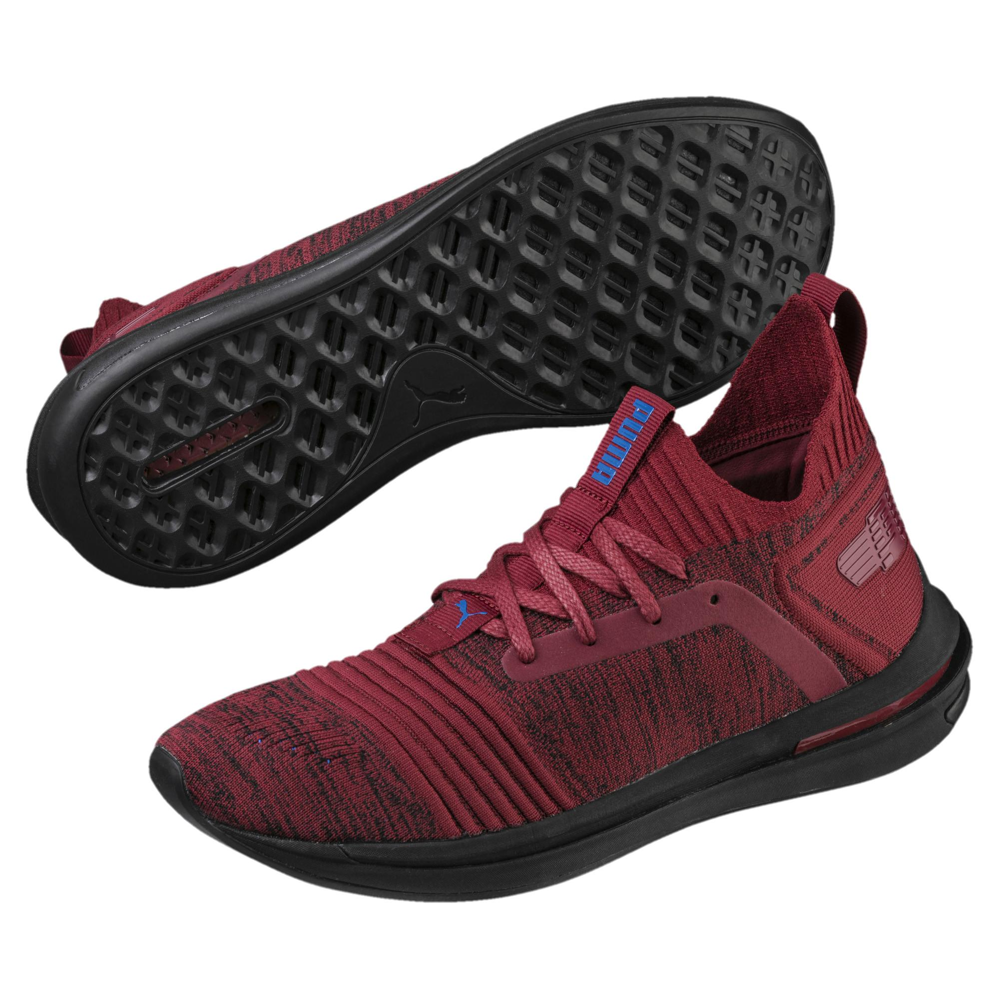 PUMA - Red Ignite Limitless Sr Evoknit Men s Sneakers for Men - Lyst. View  fullscreen 9745ee2ff