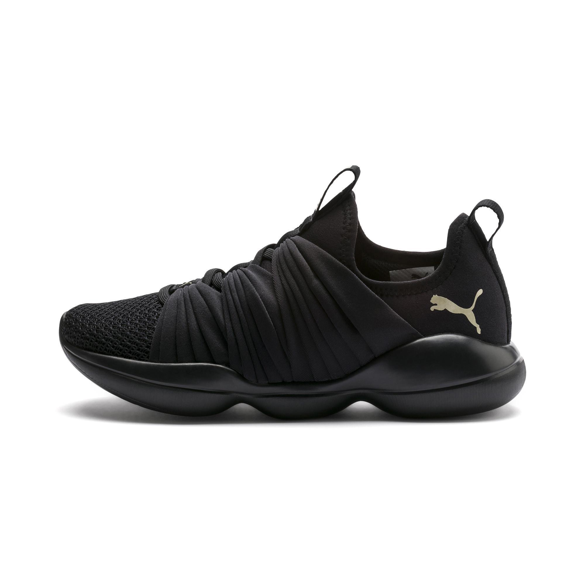 Lyst - PUMA Flourish Women s Training Shoes in Black dc8ae9a75
