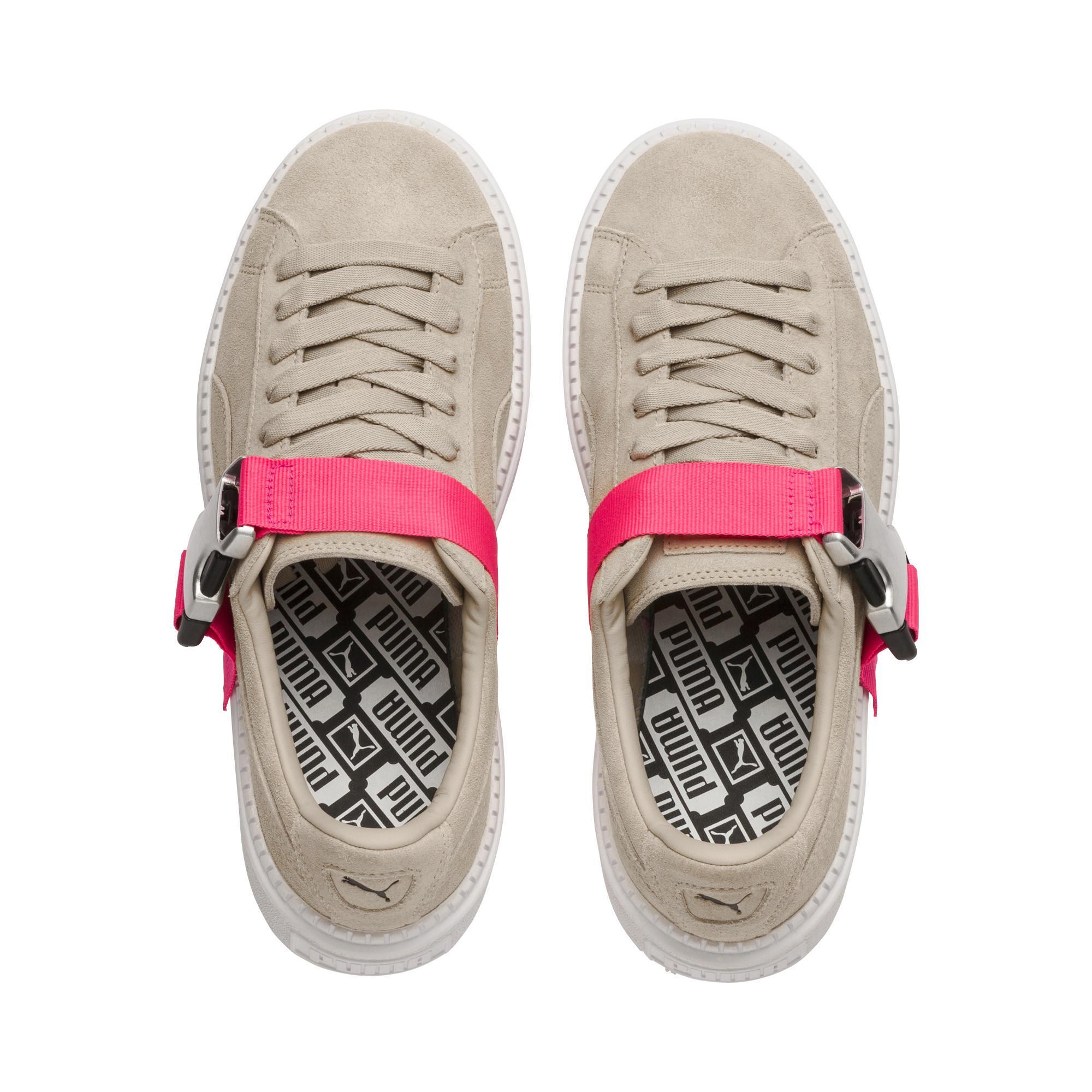 39c4c5348bbc PUMA - Multicolor Platform Trace Buckle Women s Sneakers - Lyst. View  fullscreen
