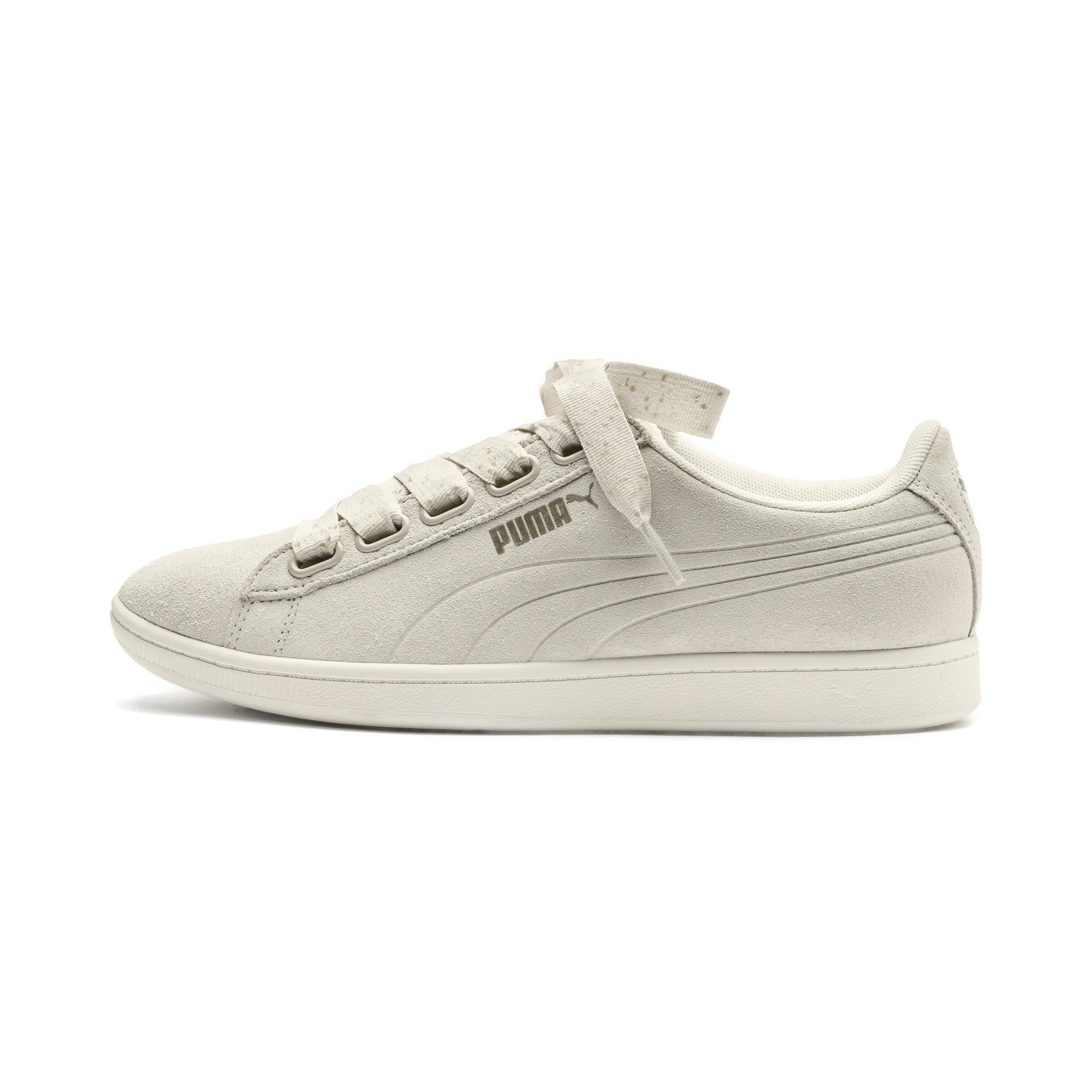 Lyst - PUMA Vikky Ribbon Dots Sneakers in White 4286bb56b