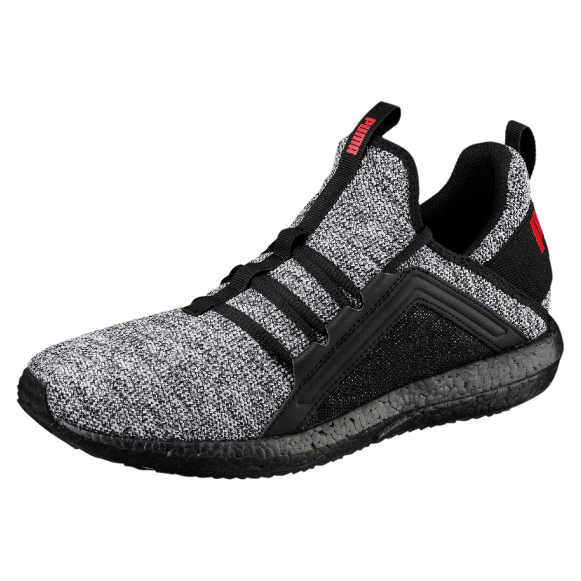 Lyst - PUMA Mega Nrgy Knit Men s Running Shoes in Black for Men 95efd450d