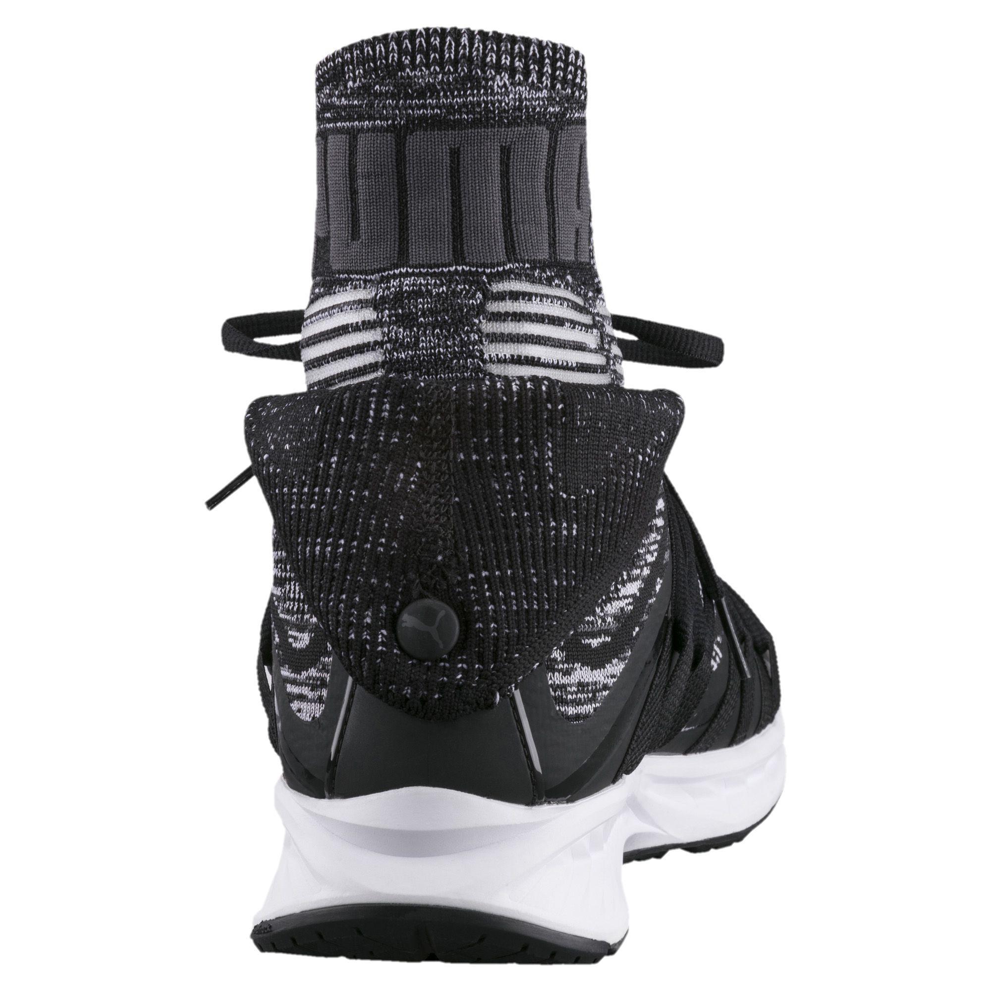 1221f29bc35ca6 Lyst - PUMA Ignite Evoknit Fold Men s Training Shoes in Black for Men