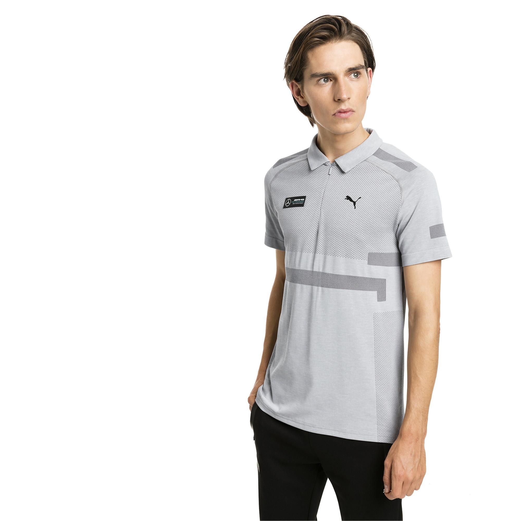 7ad1d11b PUMA Mercedes Amg Petronas Evoknit Polo for Men - Lyst