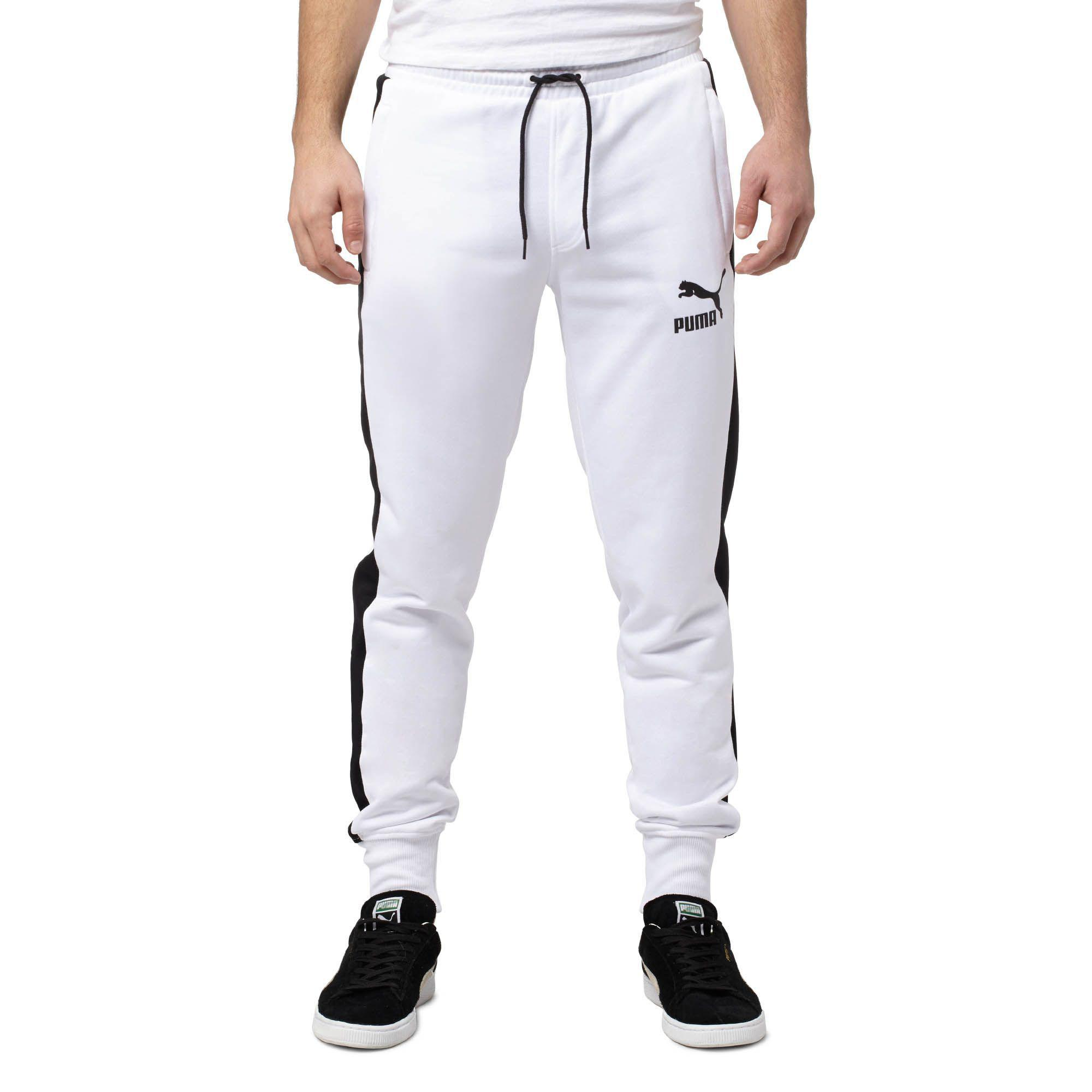 5a8797a1573 Lyst - PUMA Archive T7 Track Pants in White for Men