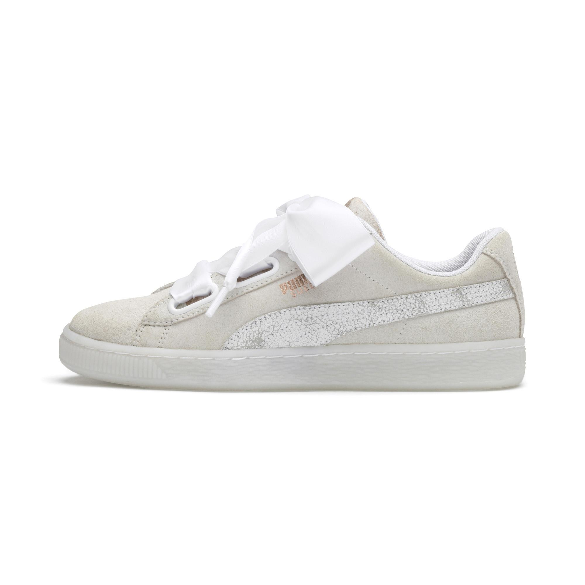 516ab096726 Lyst - PUMA Suede Heart Arctica Women s Sneakers in White - Save 29%