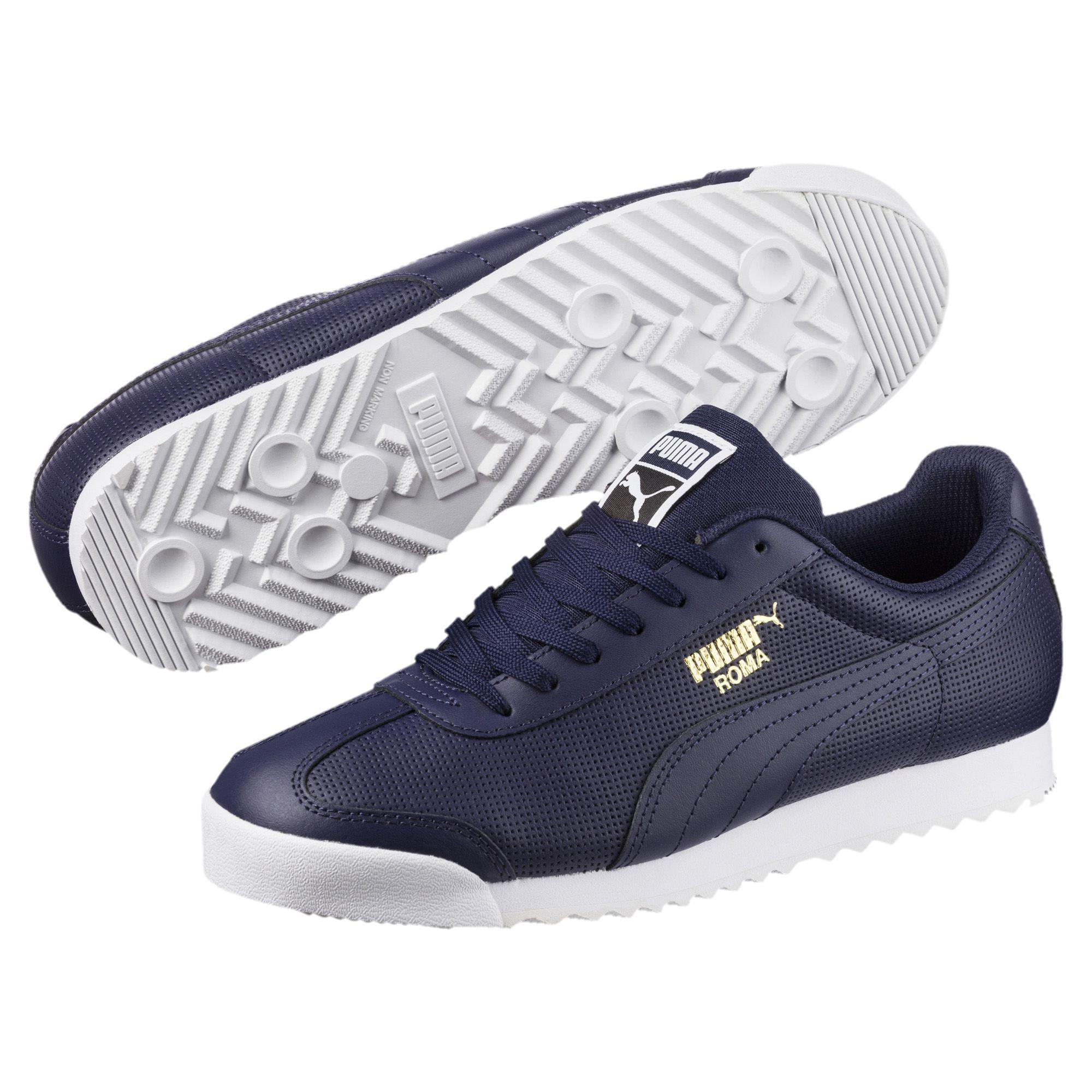 Puma Roma Basic Perf - Blue