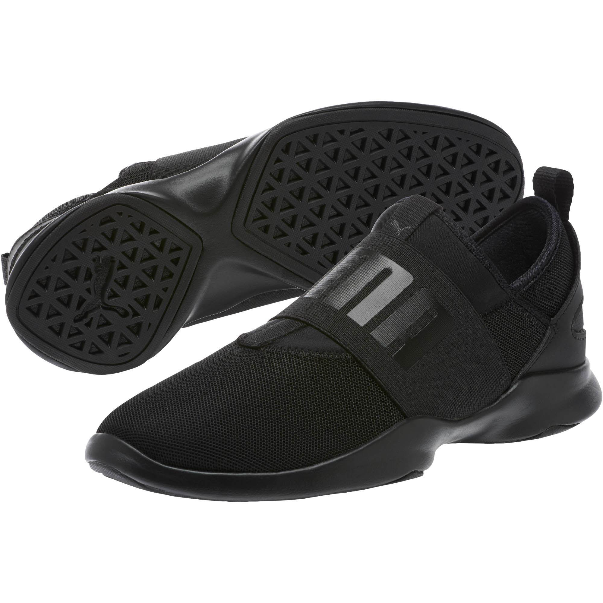 66cf3b15f027 Lyst - PUMA Dare Women s Slip-on Sneakers in Black