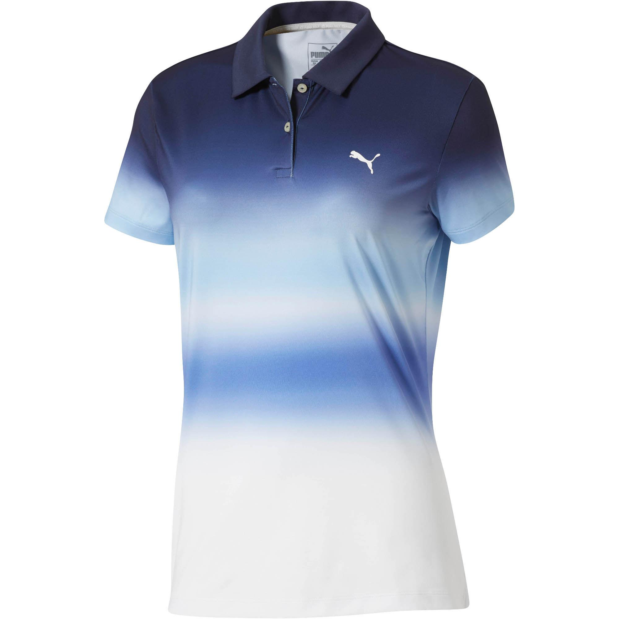 f8e0da4f3055 Lyst - PUMA Tie Dye Golf Polo Shirt in Blue