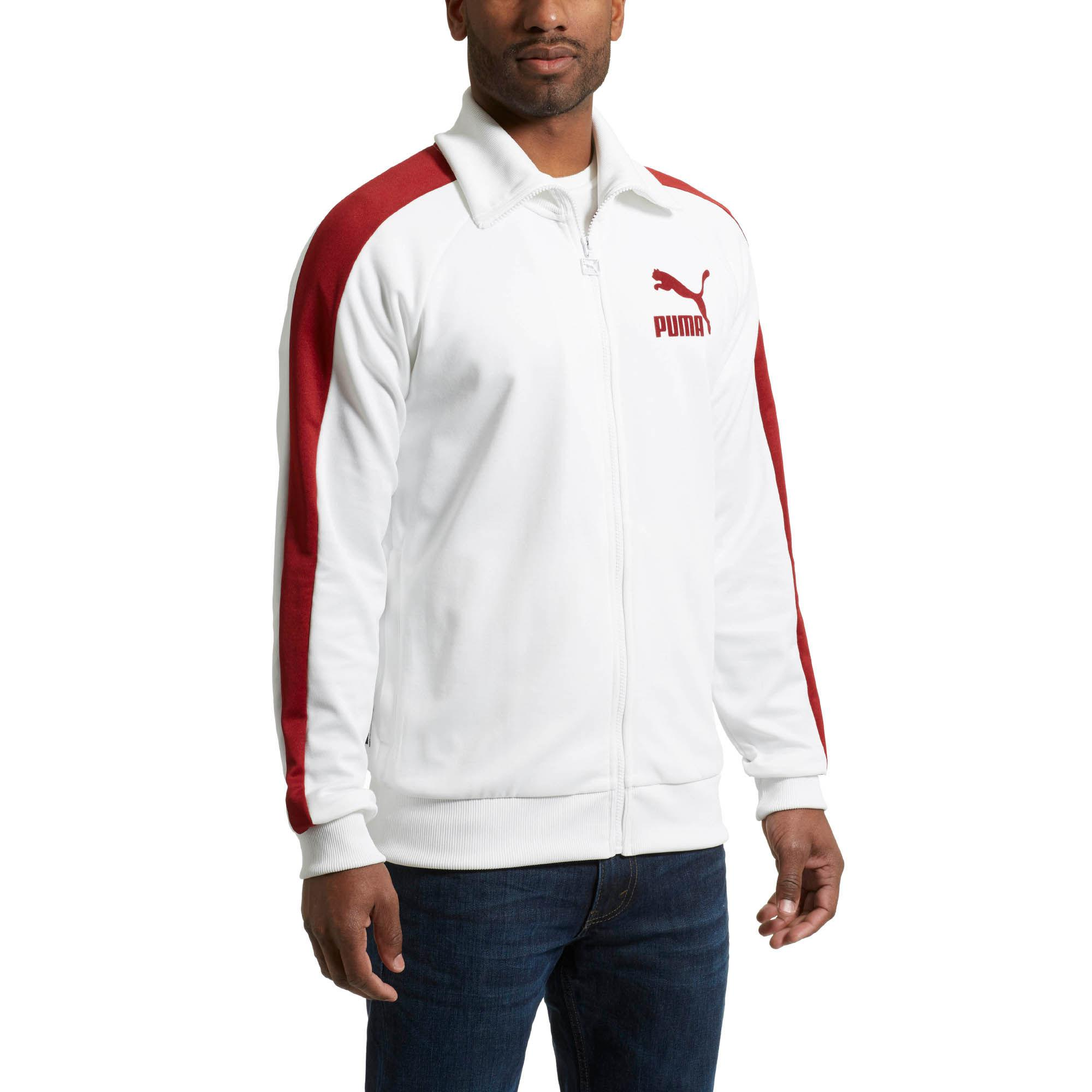 28d4a13ba720 Lyst - PUMA T7 Vintage Men s Track Jacket in White for Men