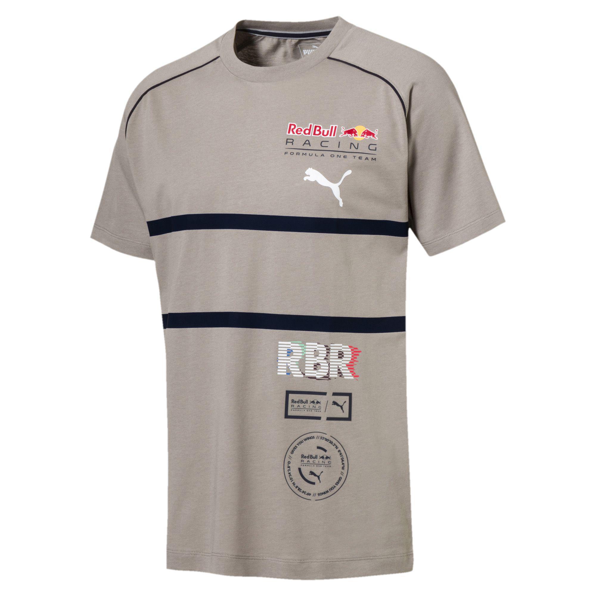 55d7b466578ac Lyst - PUMA Red Bull Racing Speedcat Evo Men s Tee in Gray for Men